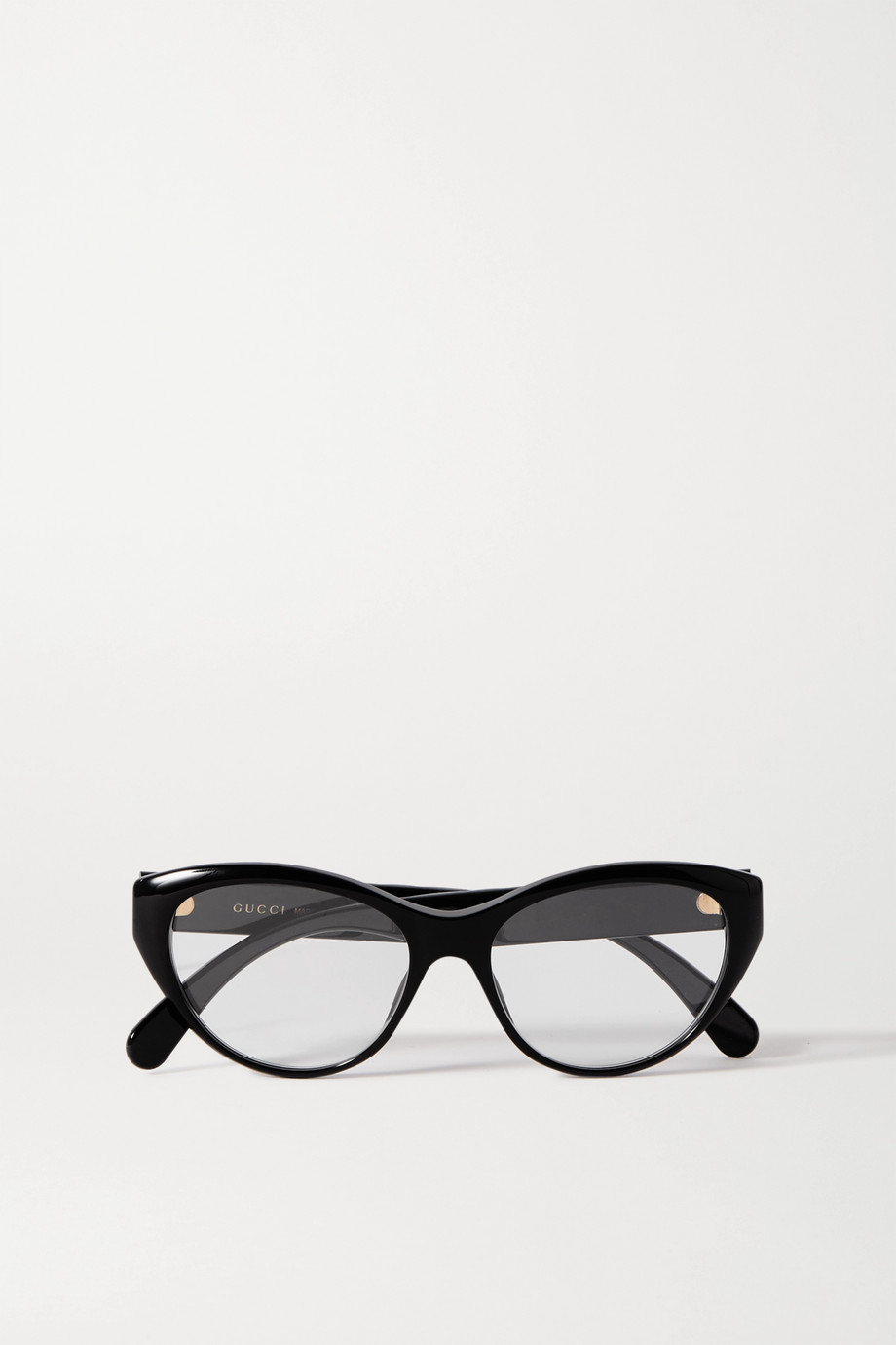 GUCCI Cat-eye acetate optical glasses