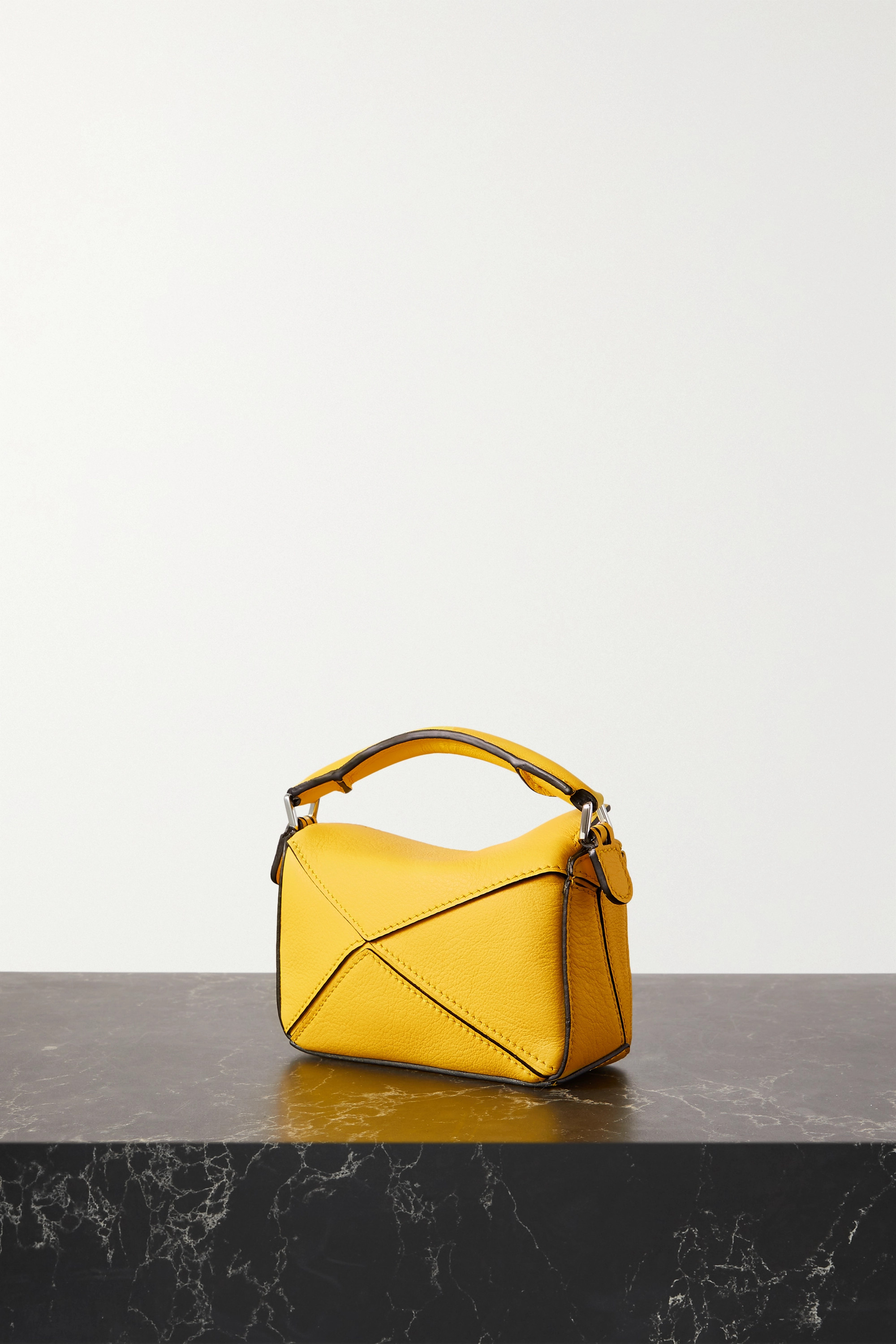 LOEWE Puzzle nano leather shoulder bag