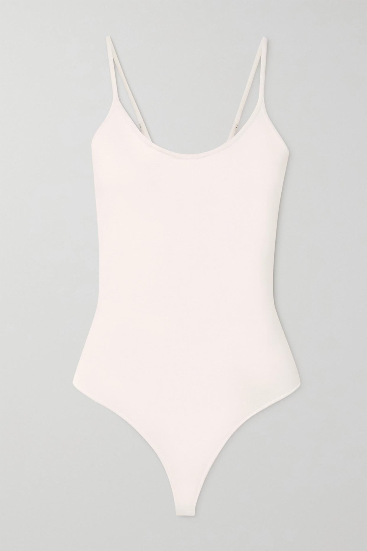 A.L.C. - A.l.c. X Petra Flannery Mara Stretch-knit Bodysuit - White - x small