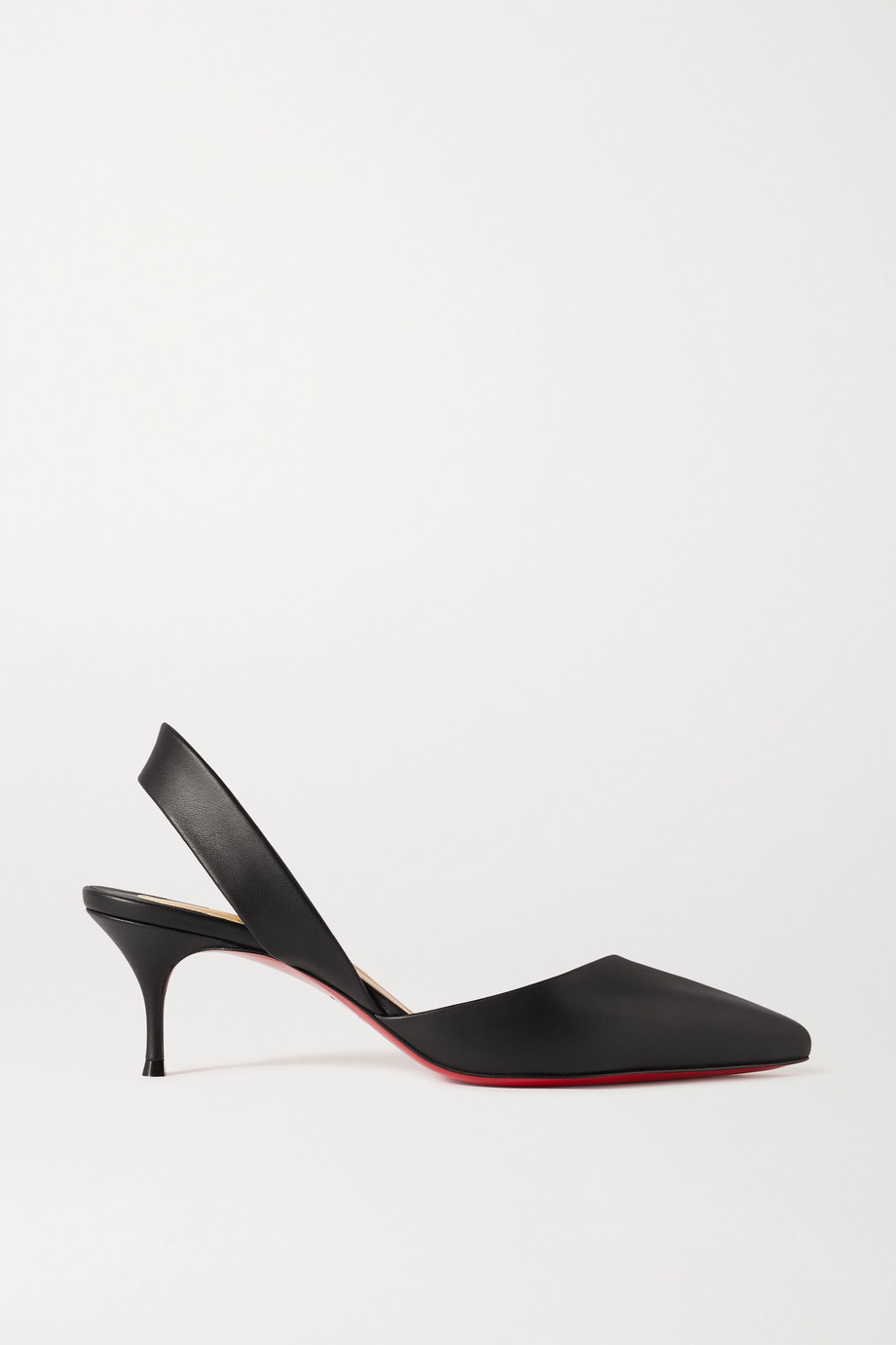 CHRISTIAN LOUBOUTIN Viola 55 leather slingback pumps