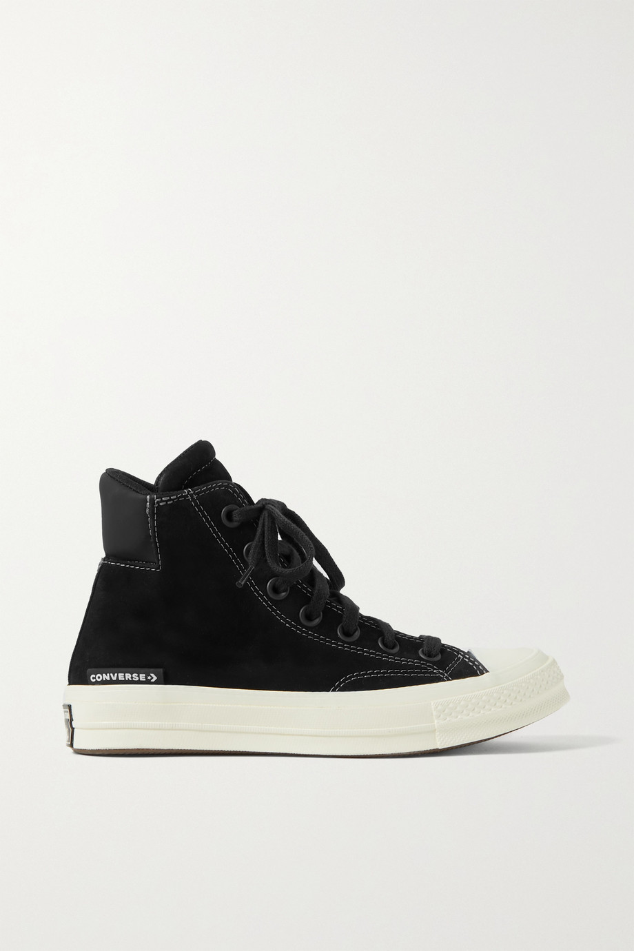 CONVERSE Chuck Taylor All Star 70 suede and neoprene high-top sneakers