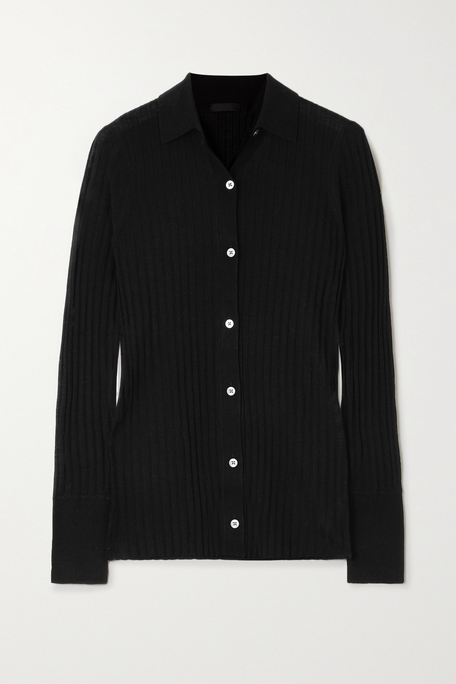 ATM ANTHONY THOMAS MELILLO Ribbed wool cardigan