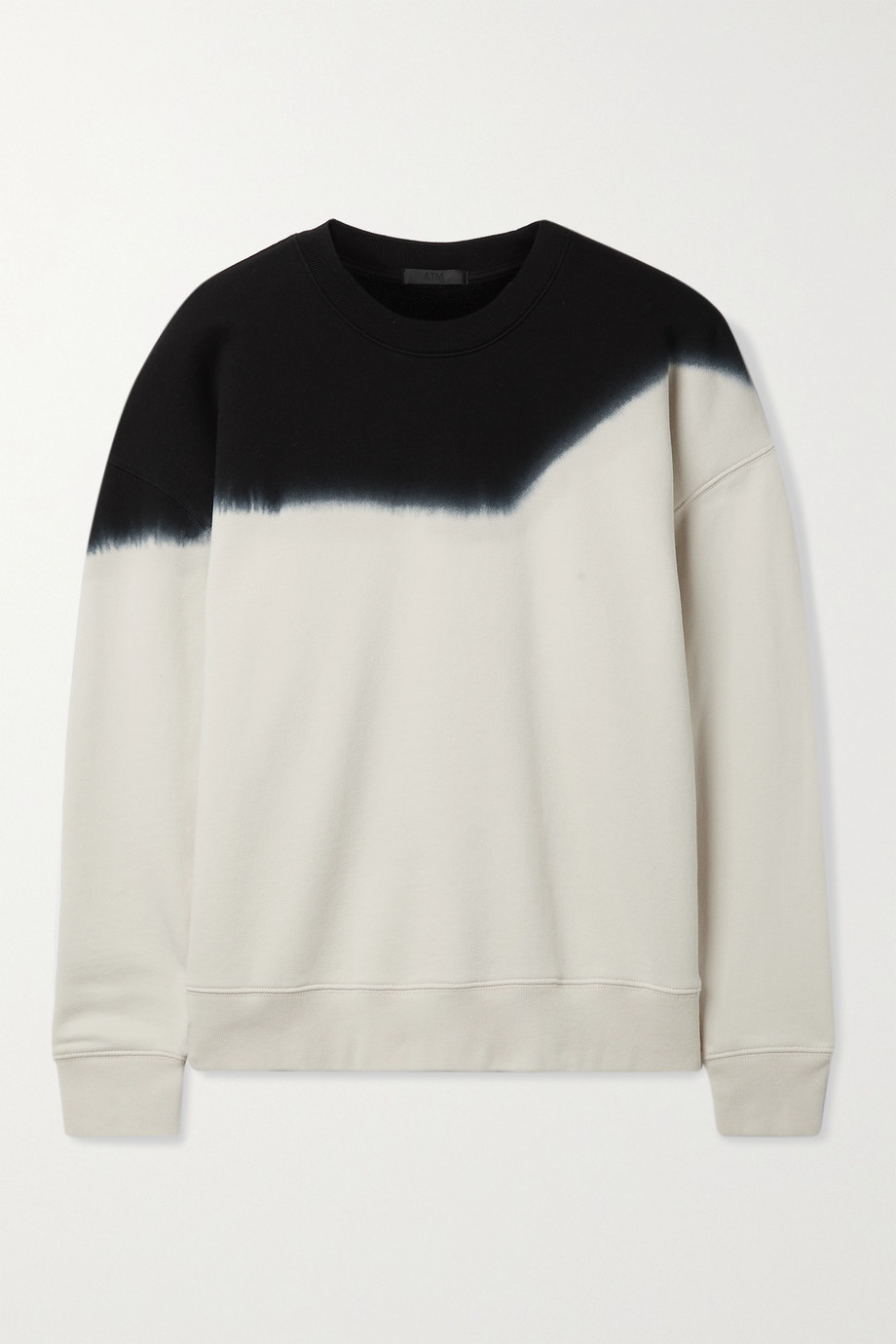 ATM ANTHONY THOMAS MELILLO Tie-dyed cotton-jersey sweatshirt