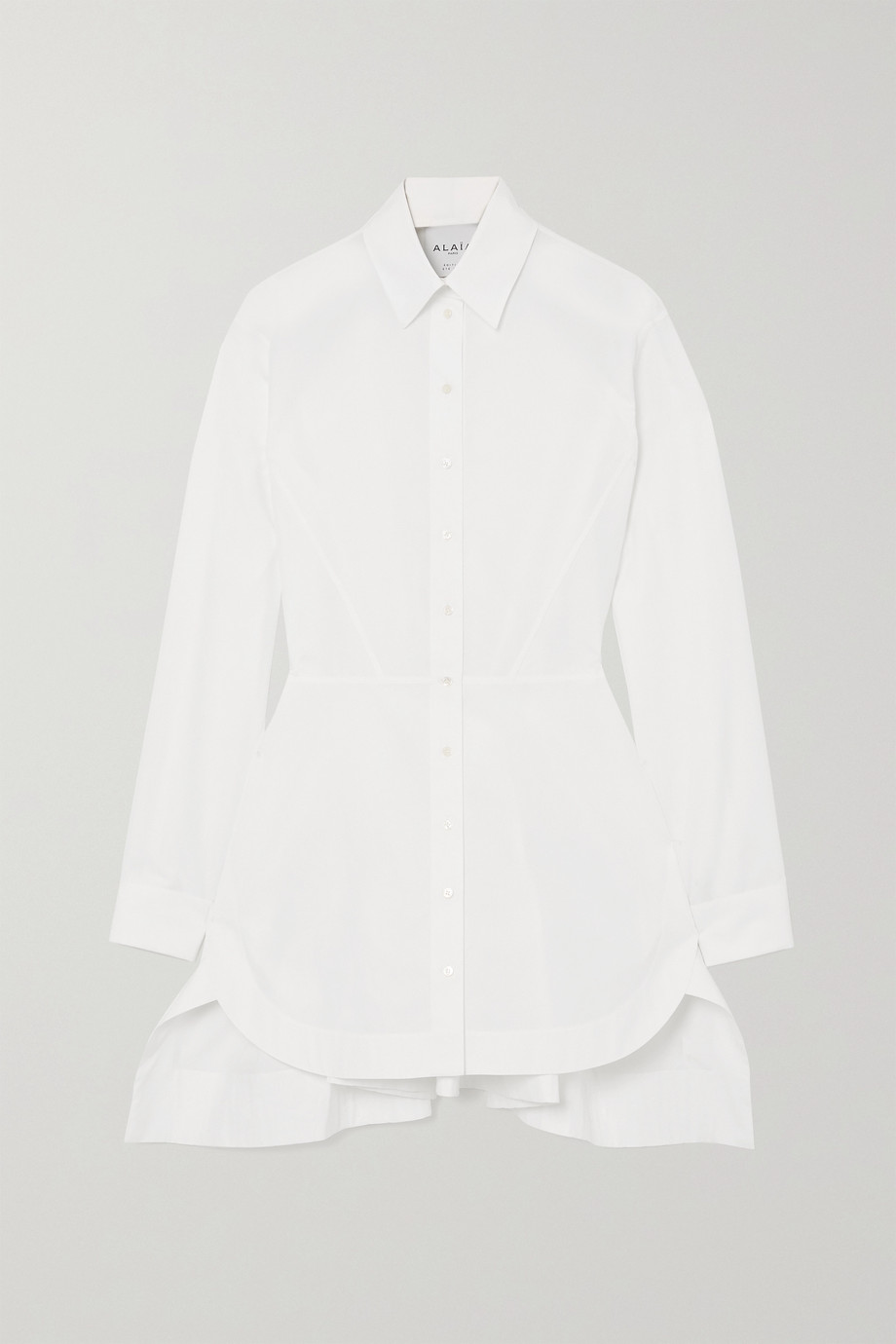 ALAÏA Editions cotton-poplin shirt