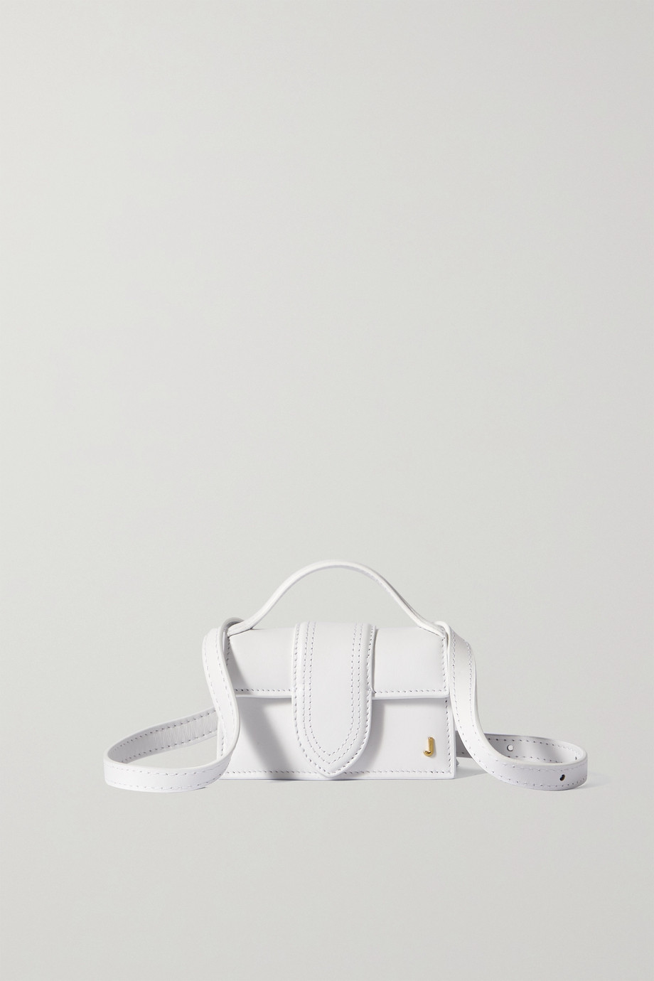 JACQUEMUS Le Petit Bambino leather tote