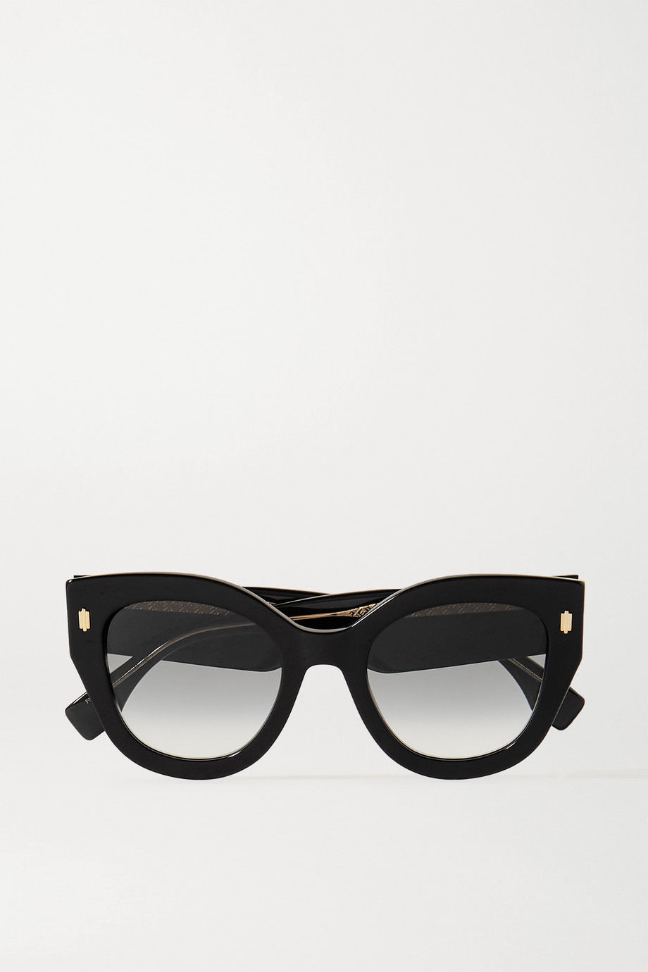 FENDI Oversized round-frame acetate sunglasses