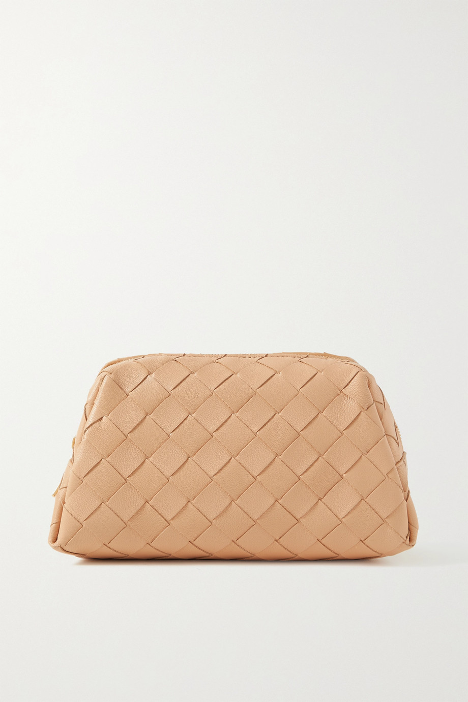 BOTTEGA VENETA Intrecciato small leather cosmetics case