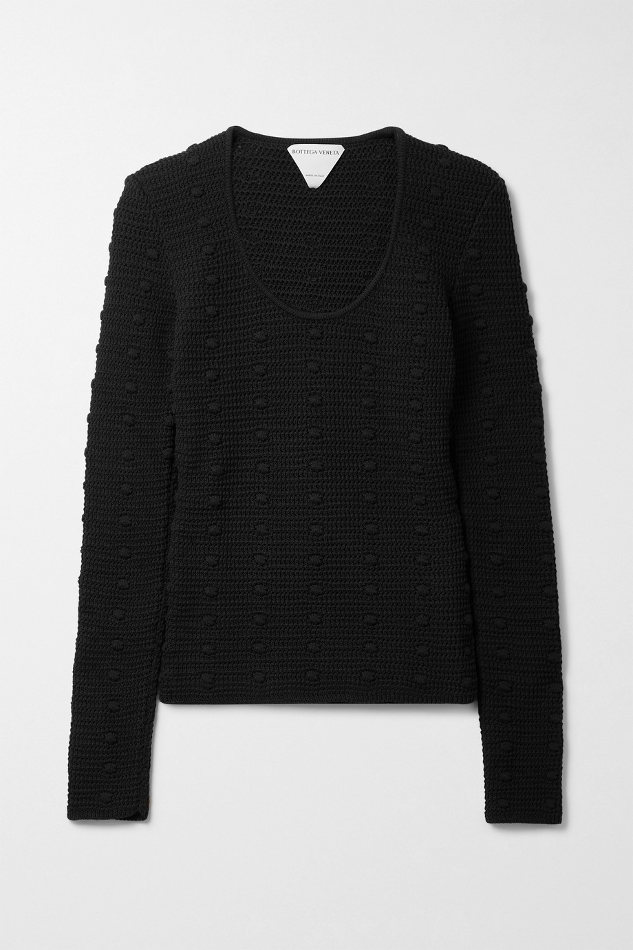 BOTTEGA VENETA Crocheted cotton sweater