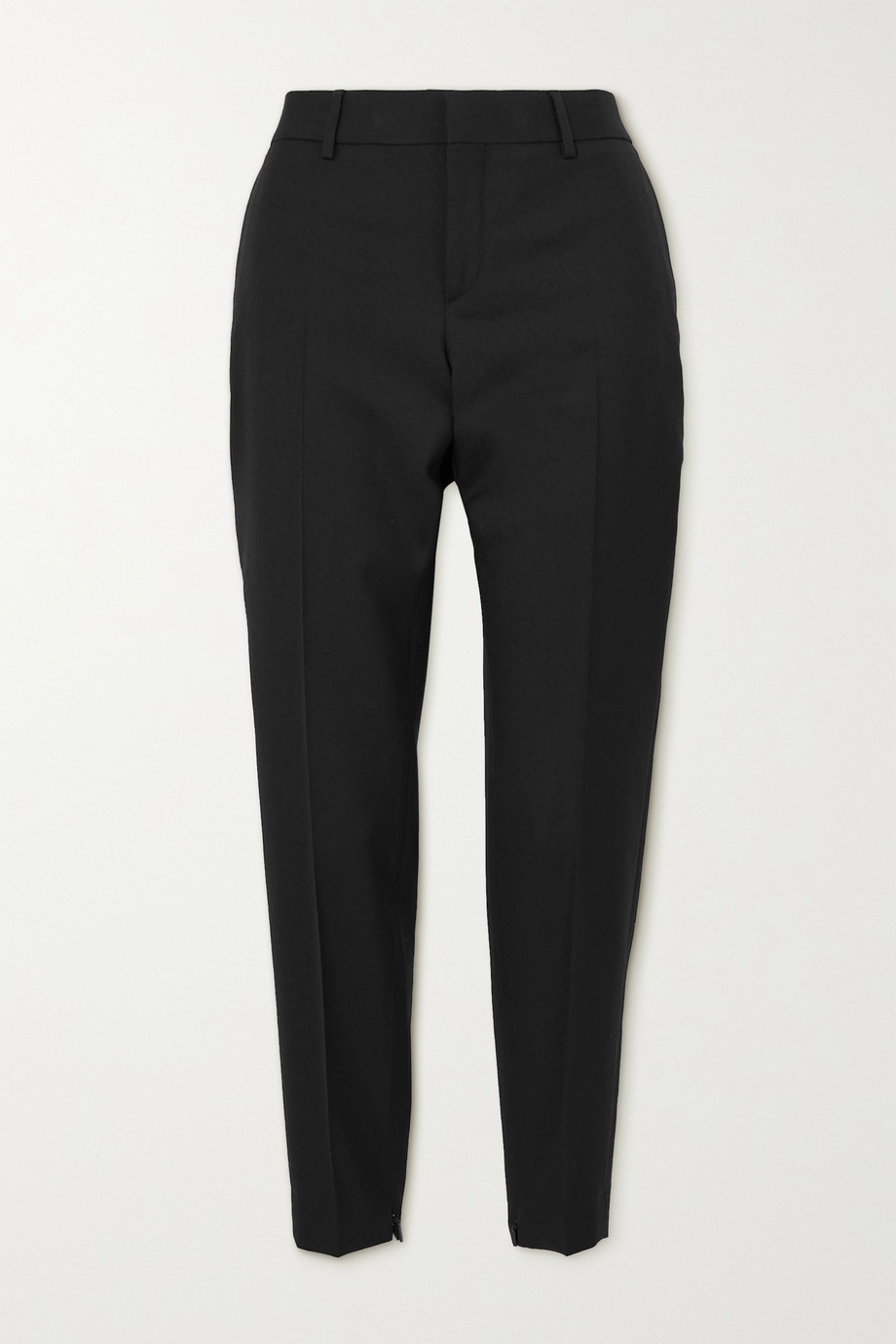 SAINT LAURENT Wool slim-leg pants