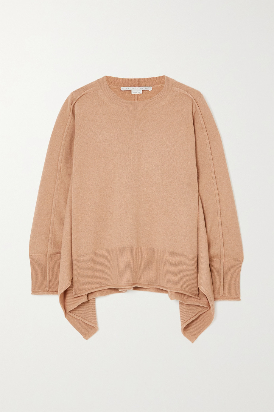 STELLA MCCARTNEY + NET SUSTAIN cashmere and wool-blend sweater