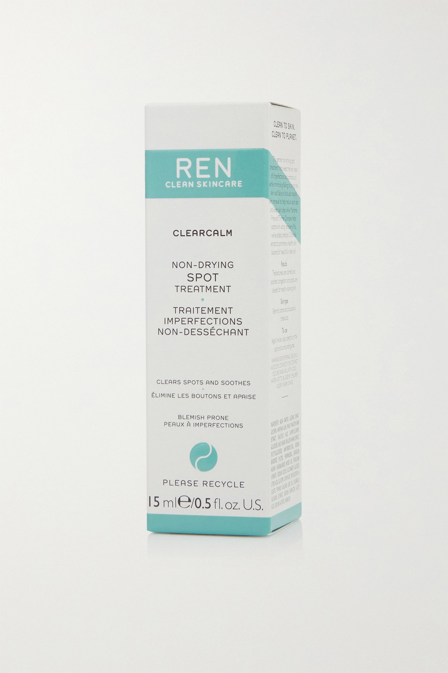 REN CLEAN SKINCARE ClearCalm Non-Drying Spot Treatment, 15ml
