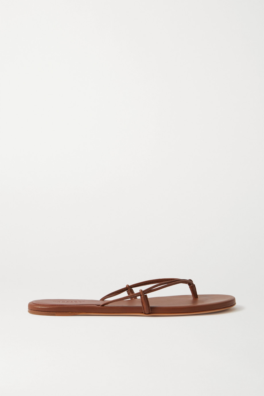 Gabriela Hearst Leather flip flops