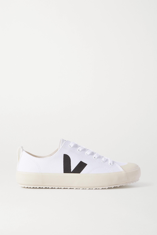 VEJA + NET SUSTAIN Nova organic cotton-canvas sneakers
