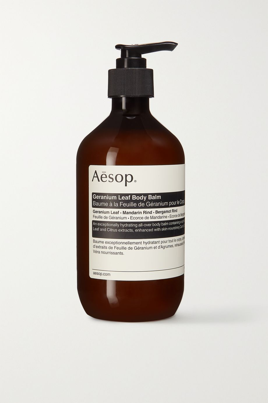 AESOP + NET SUSTAIN Geranium Leaf Body Balm, 500ml