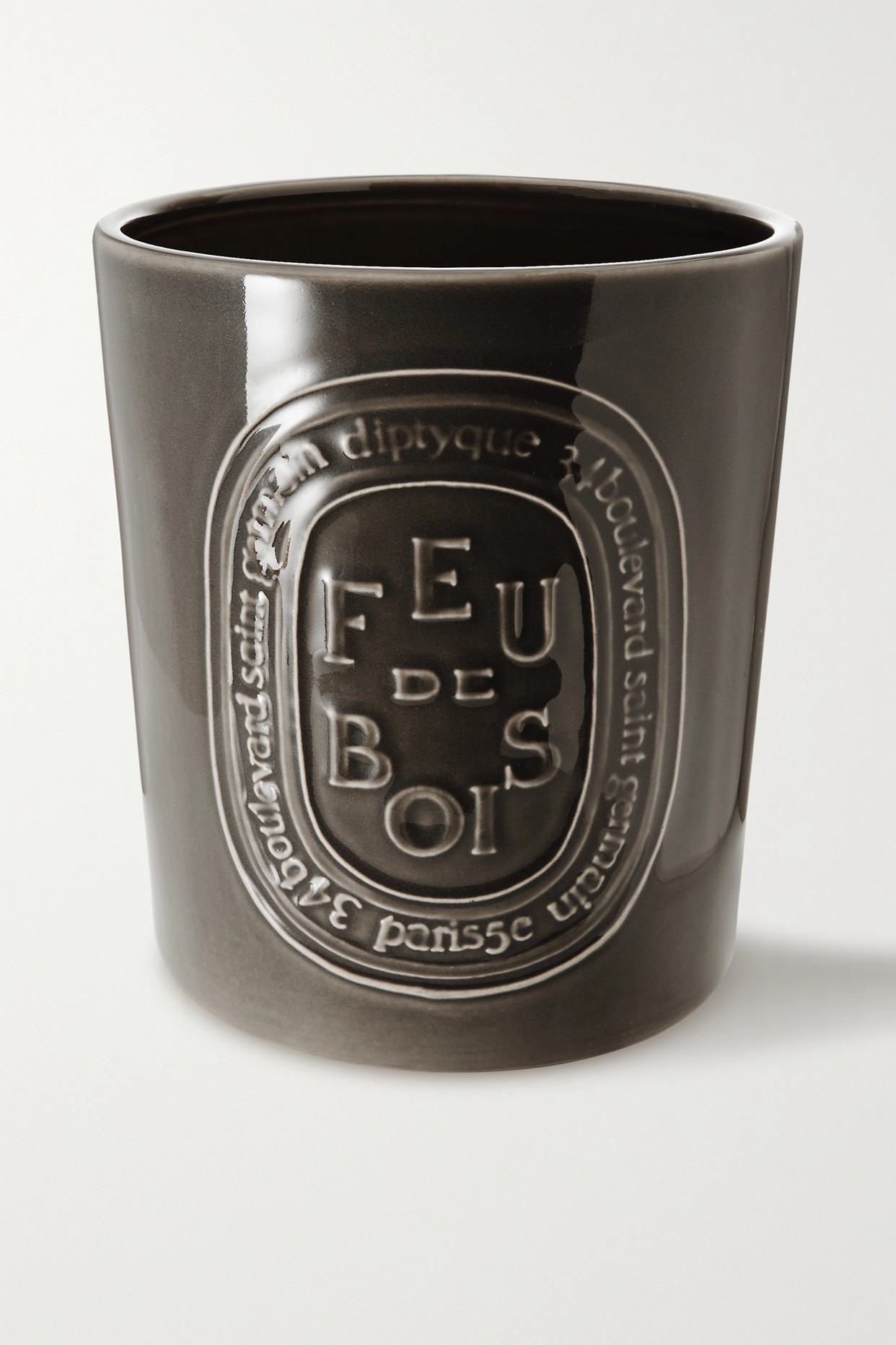 DIPTYQUE - Feu De Bois Scented Candle, 1500g - Gray - one size