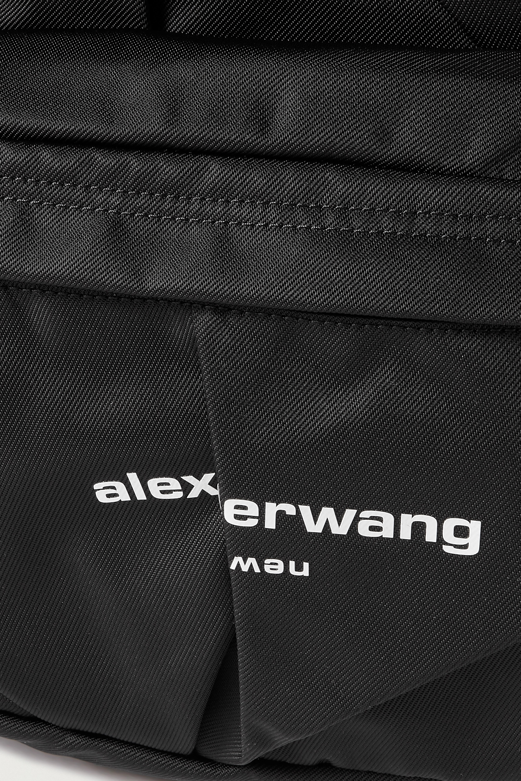 ALEXANDER WANG Wangsport ruched printed nylon backpack
