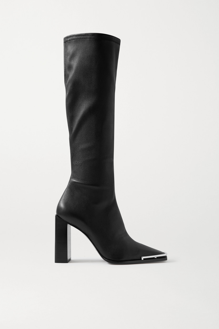 ALEXANDER WANG Mascha leather knee boots