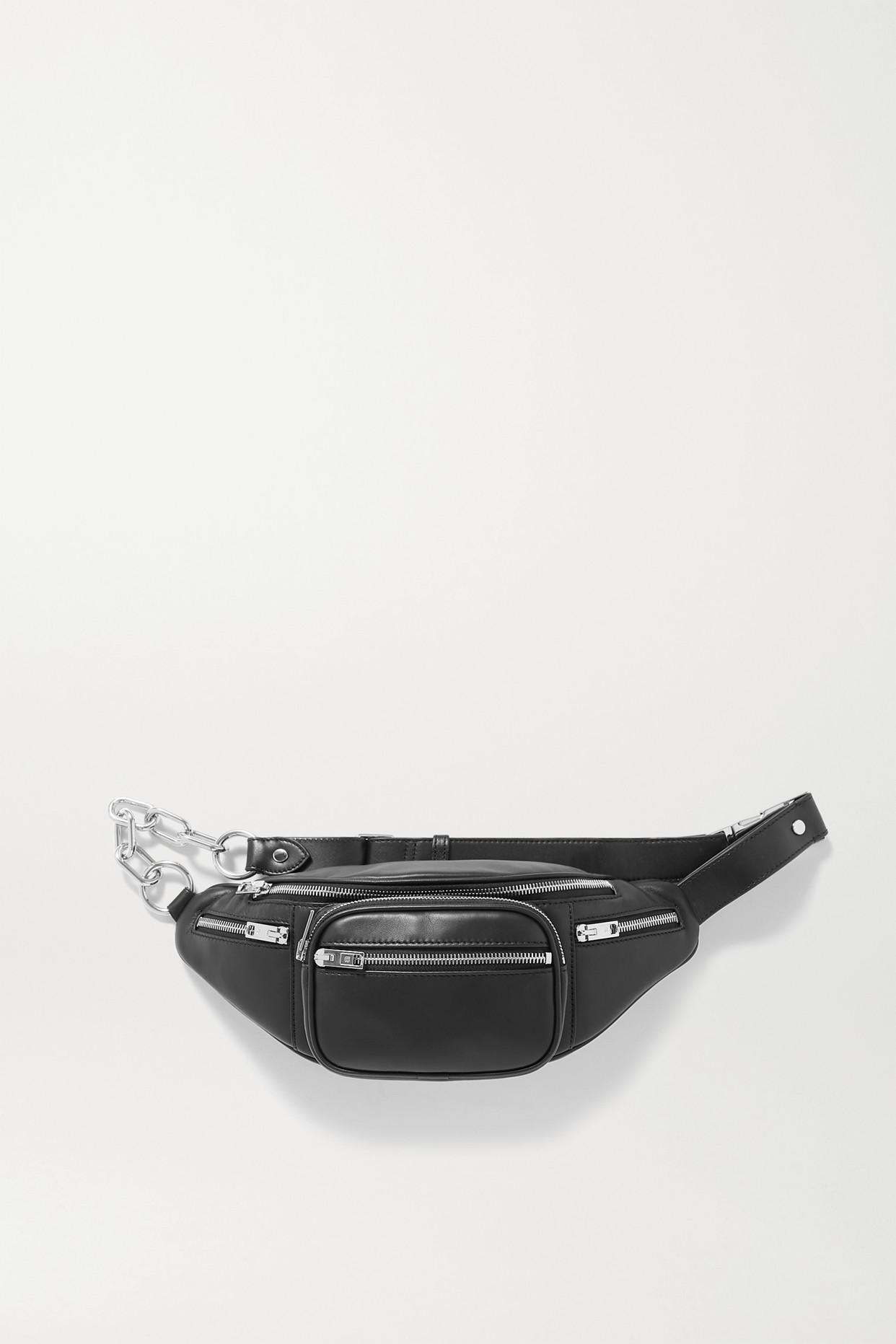 ALEXANDER WANG - Attica Leather Belt Bag - Black - one size