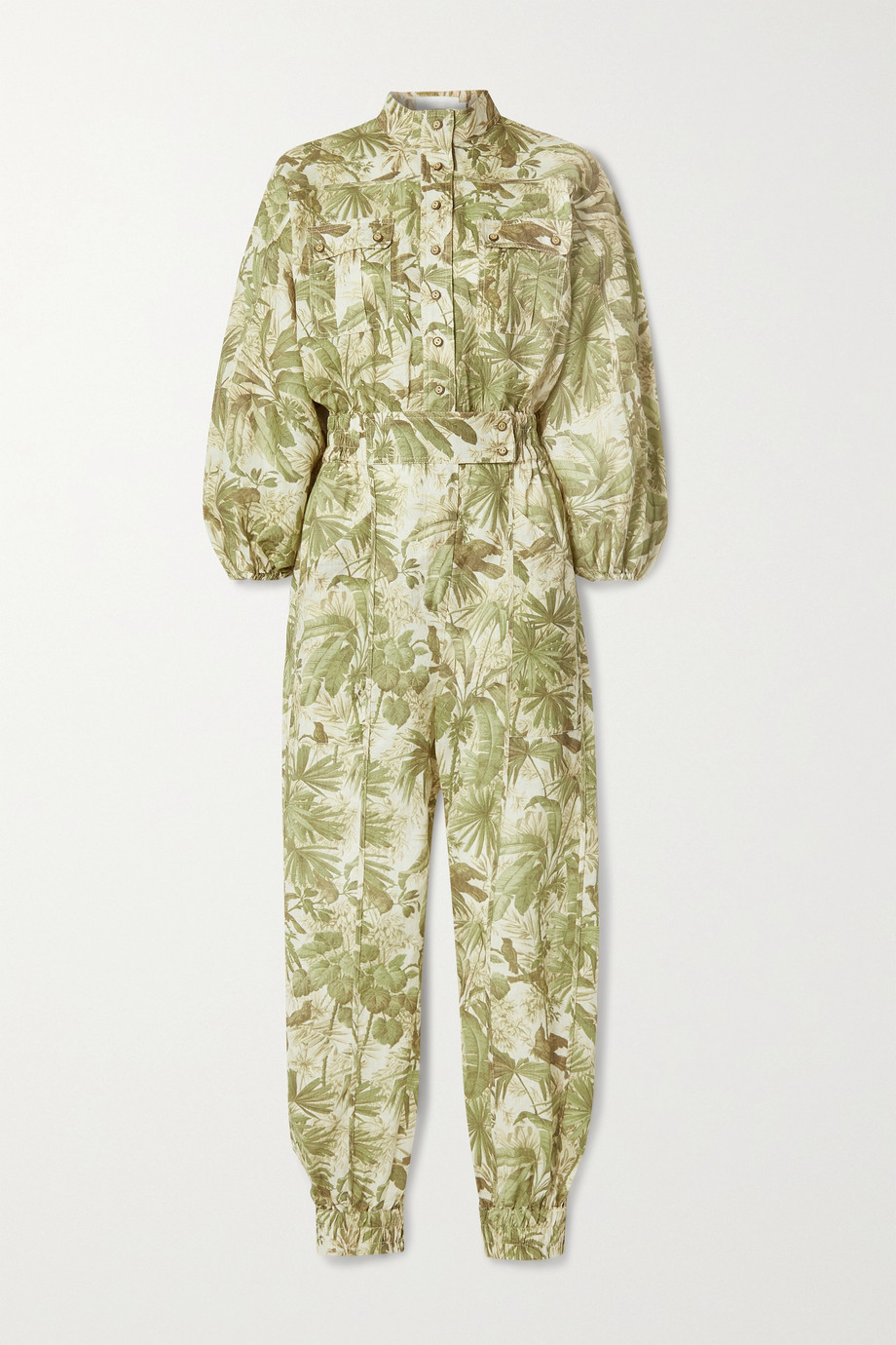 ZIMMERMANN Brighton printed linen jumpsuit