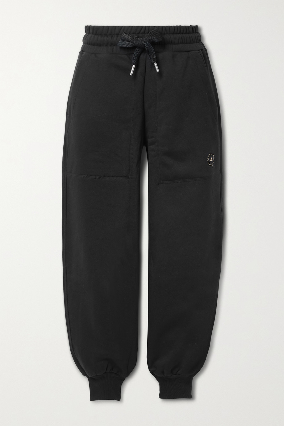 ADIDAS BY STELLA MCCARTNEY Cotton-blend jersey track pants