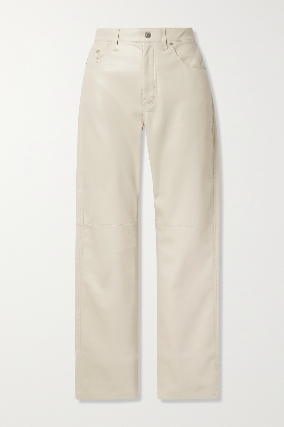 NANUSHKA Vinni cropped vegan leather pants
