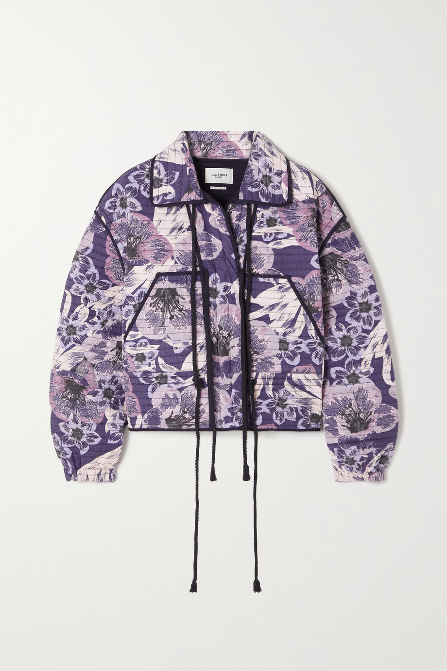 ISABEL MARANT ÉTOILE Haines floral-print quilted cotton jacket