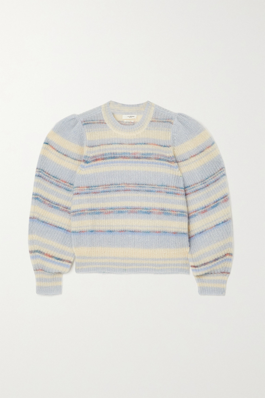 ISABEL MARANT ÉTOILE Eleonore striped mohair-blend sweater