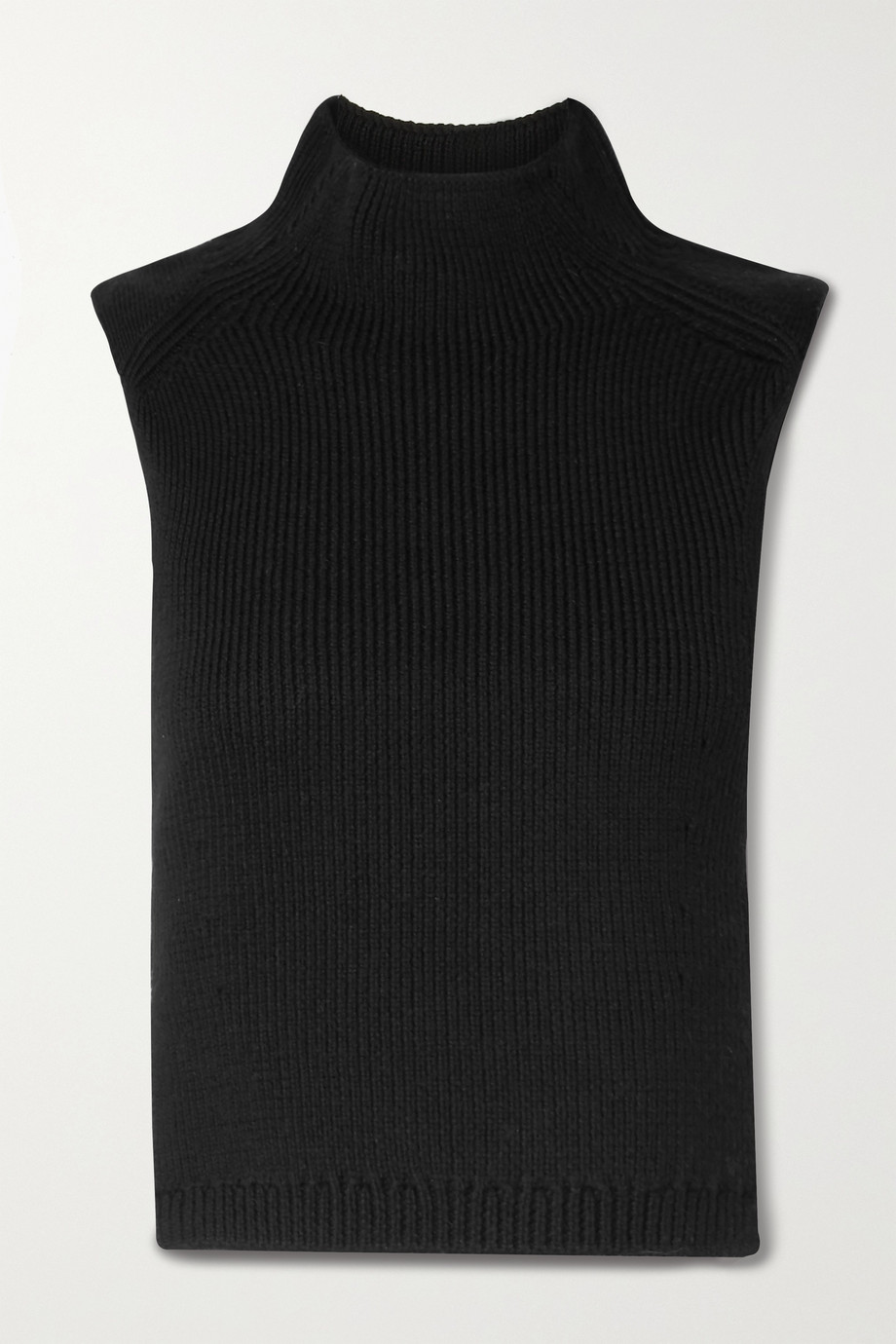 RAG & BONE Adella cutout wool turtleneck tank