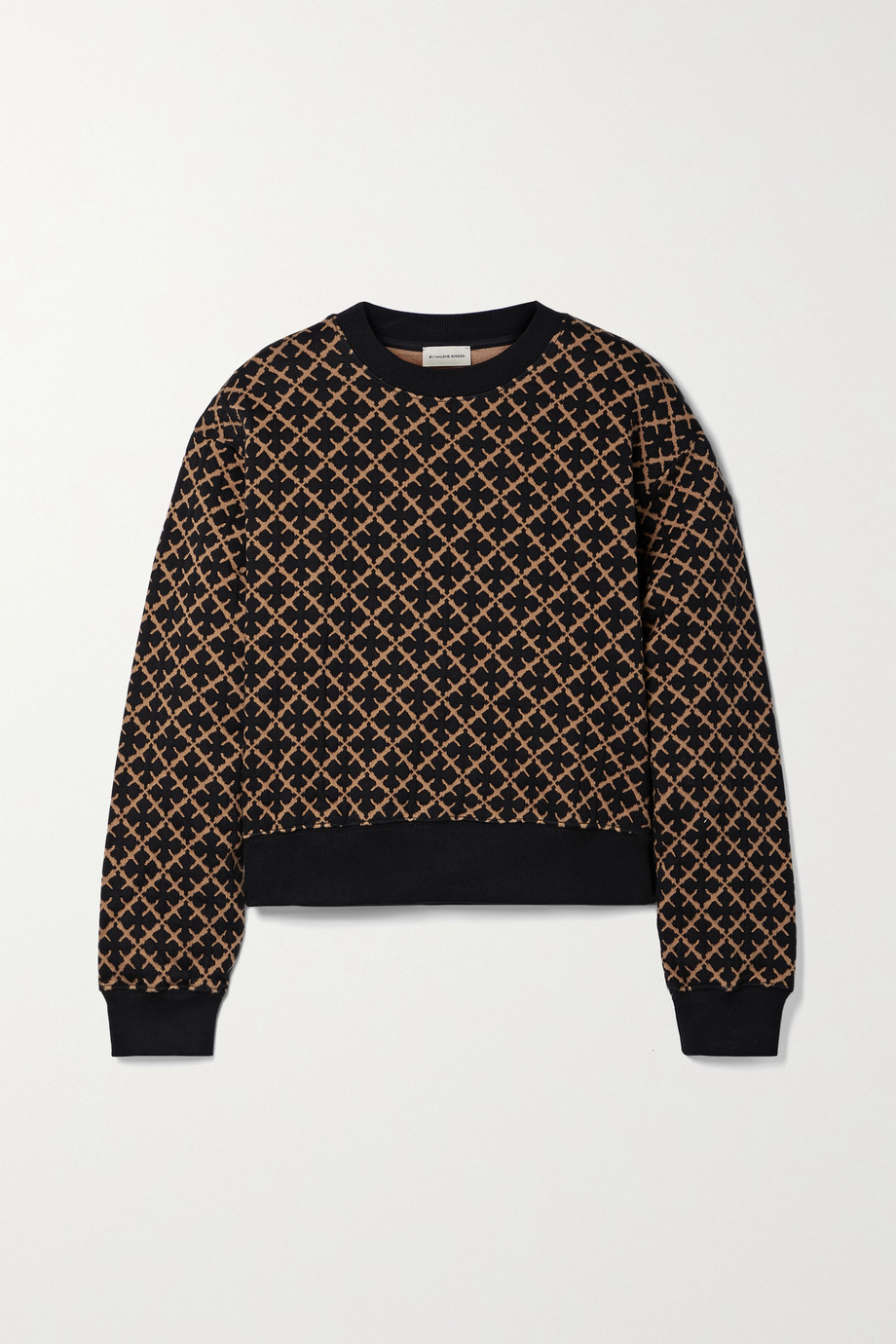 BY MALENE BIRGER Yasmia cotton-blend jacquard sweater