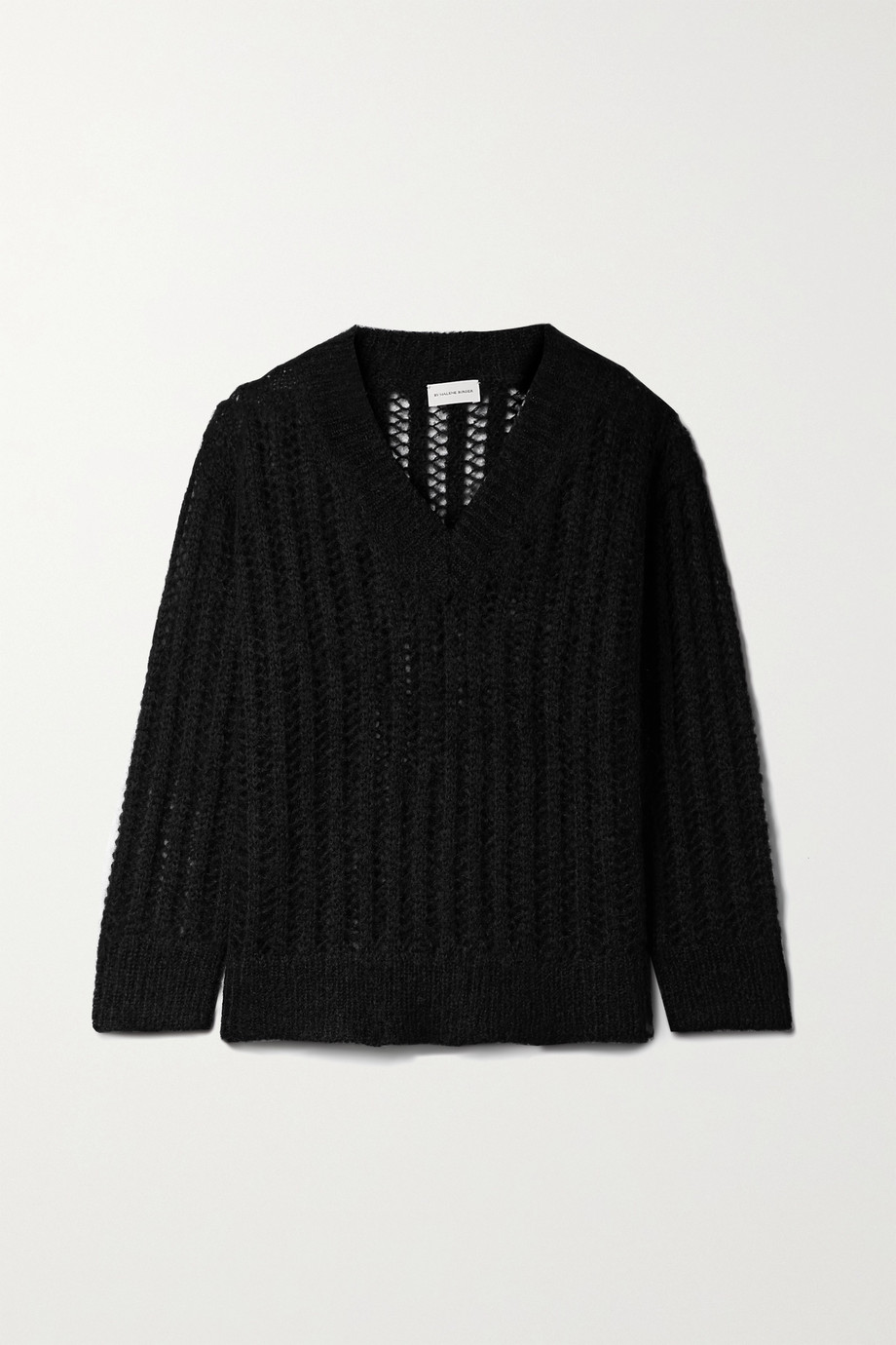 BY MALENE BIRGER Atropa open-knit mohair-blend sweater
