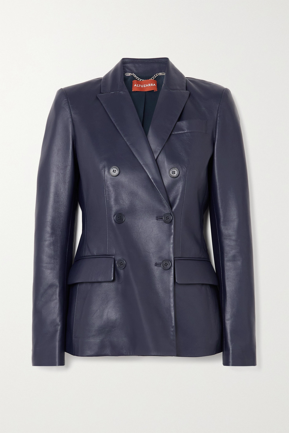 ALTUZARRA Indiana double-breasted leather blazer