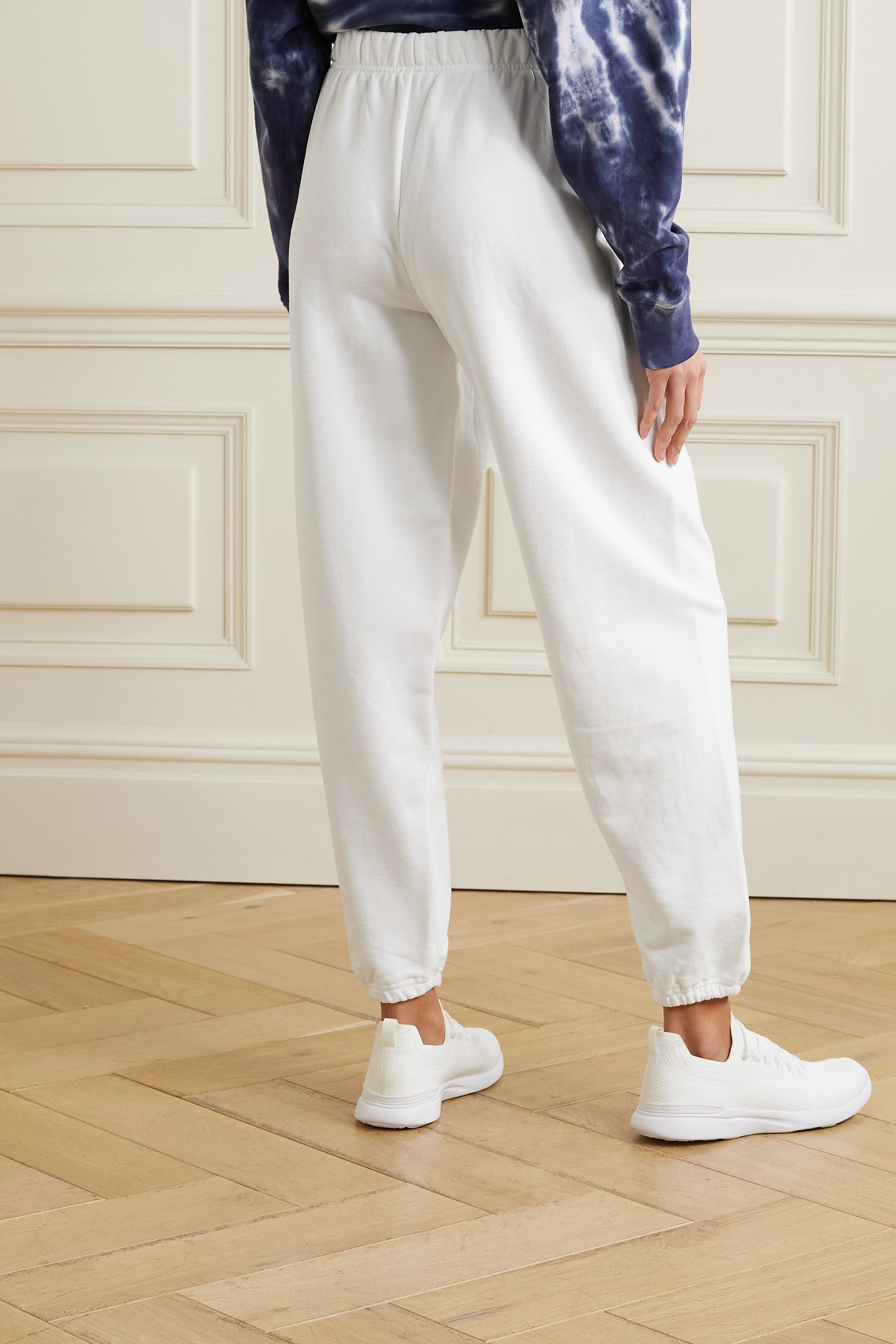 TORY SPORT French cotton-terry track pants