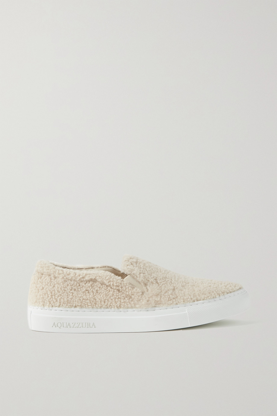 AQUAZZURA Relax shearling sneakers