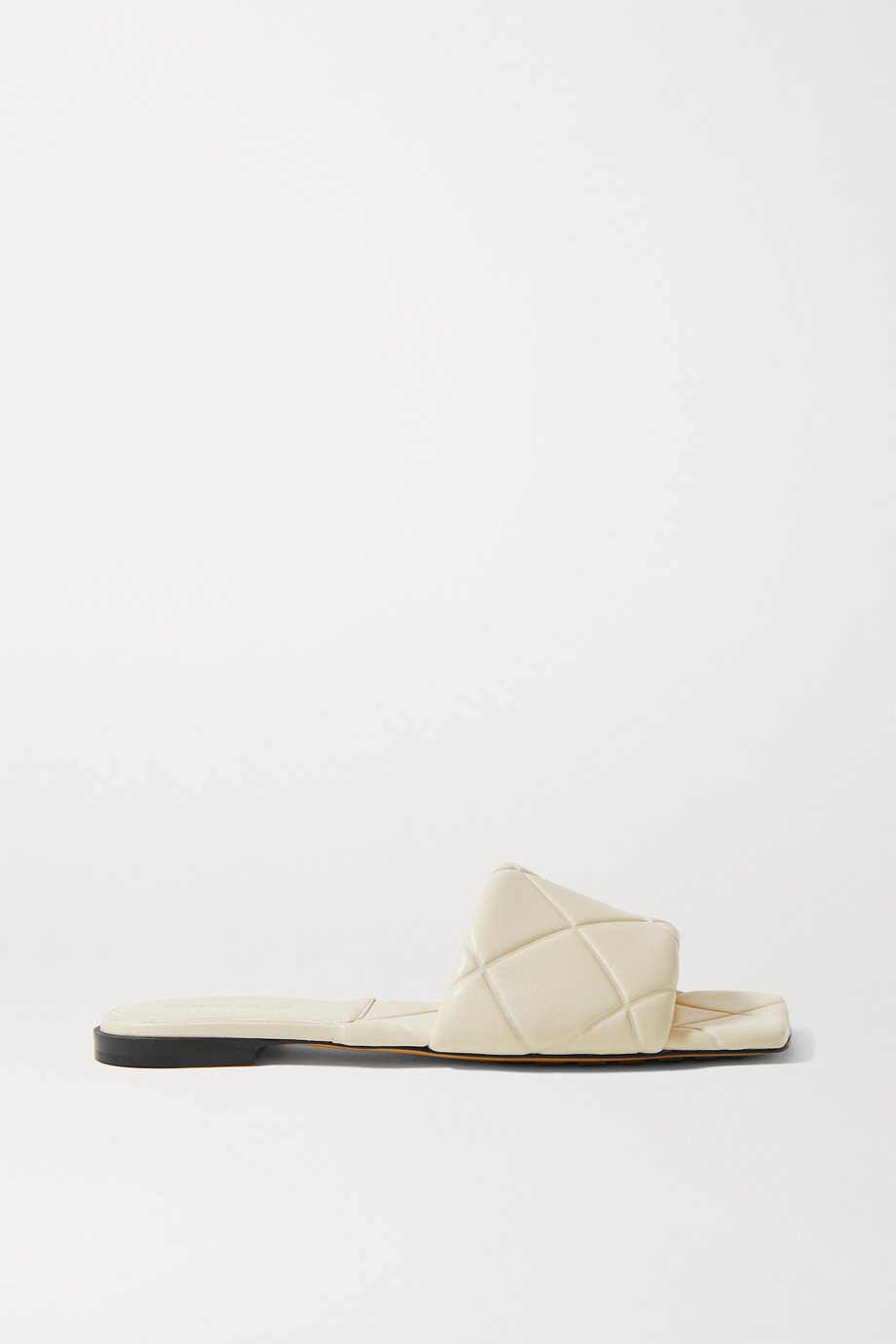 BOTTEGA VENETA Debossed leather slides
