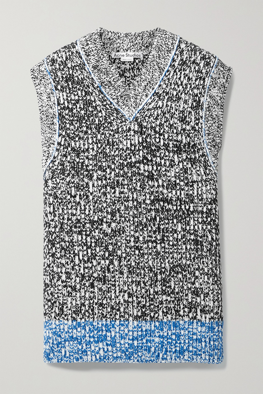 ACNE STUDIOS Oversized knitted tank