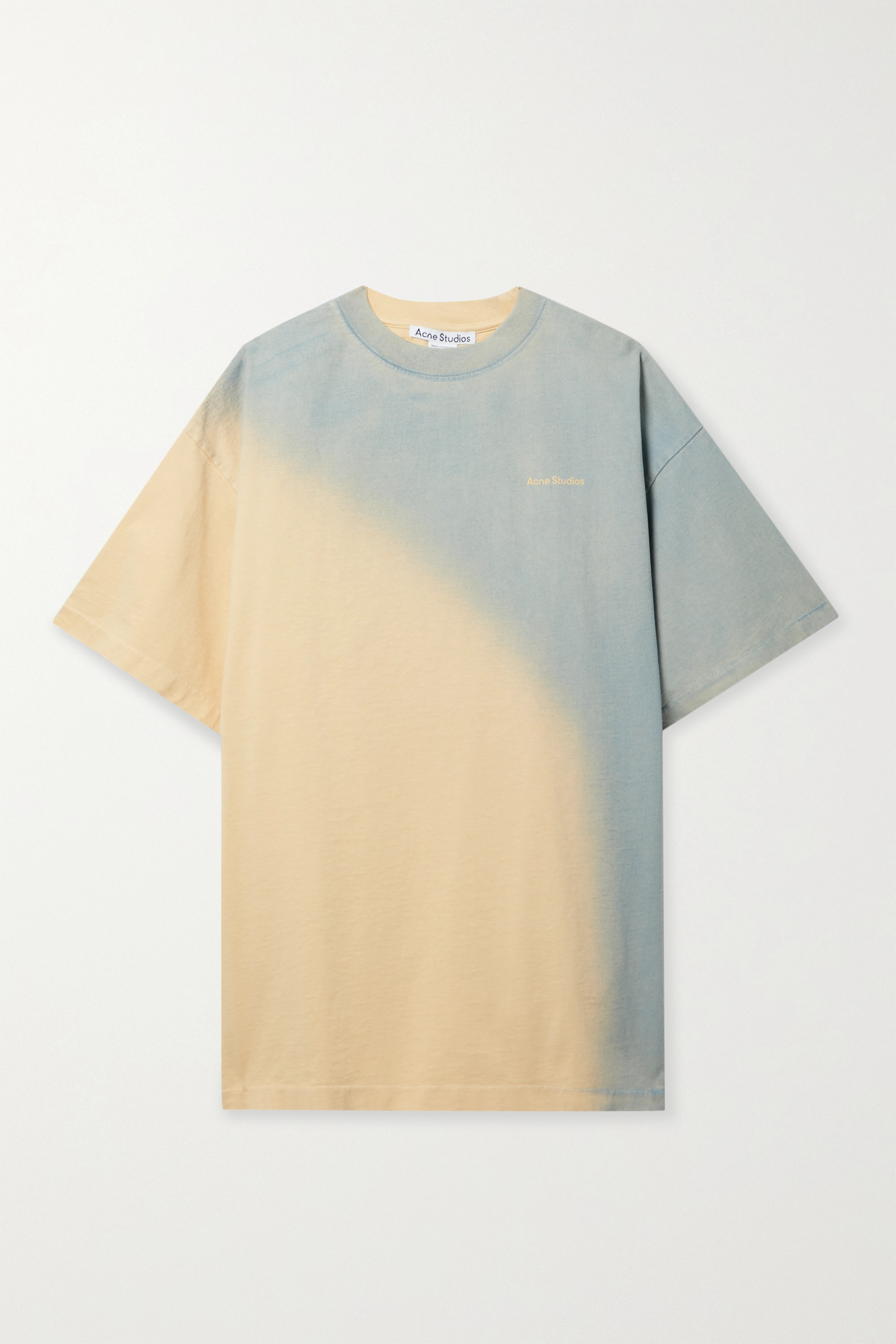 organic cotton for the summer yellow and blue NET