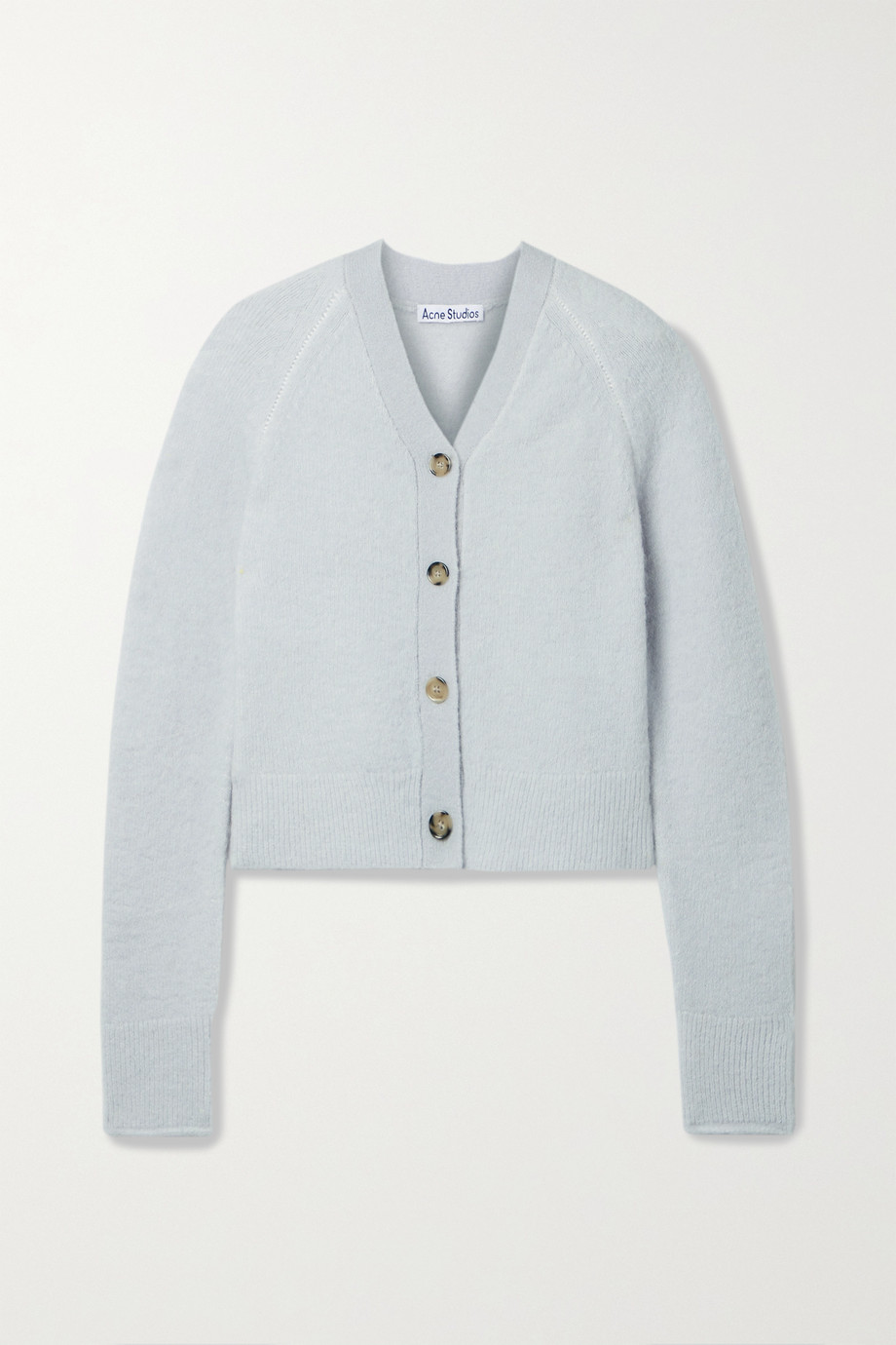 ACNE STUDIOS Stretch-knit cardigan