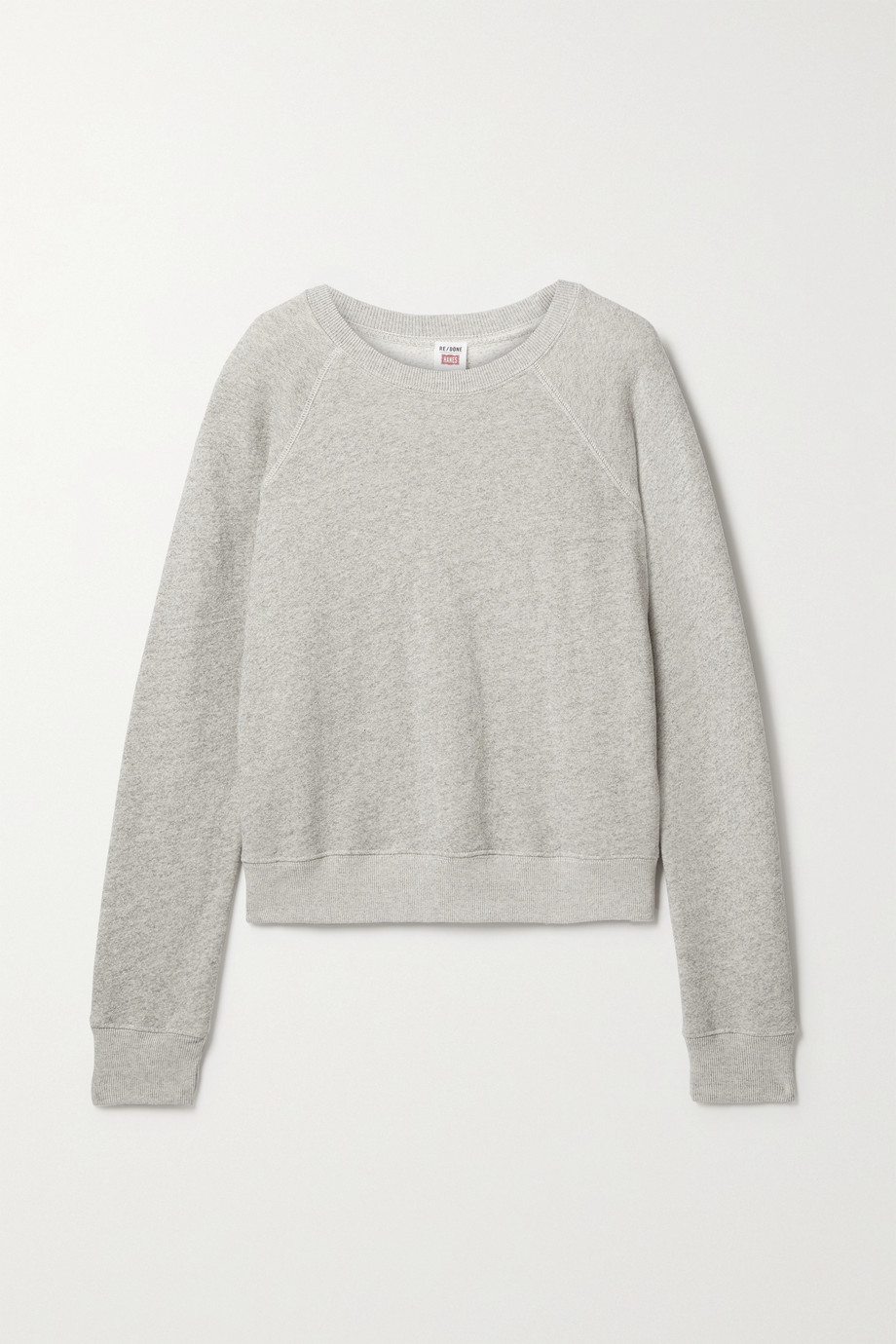 RE/DONE + Hanes cotton-jersey sweatshirt