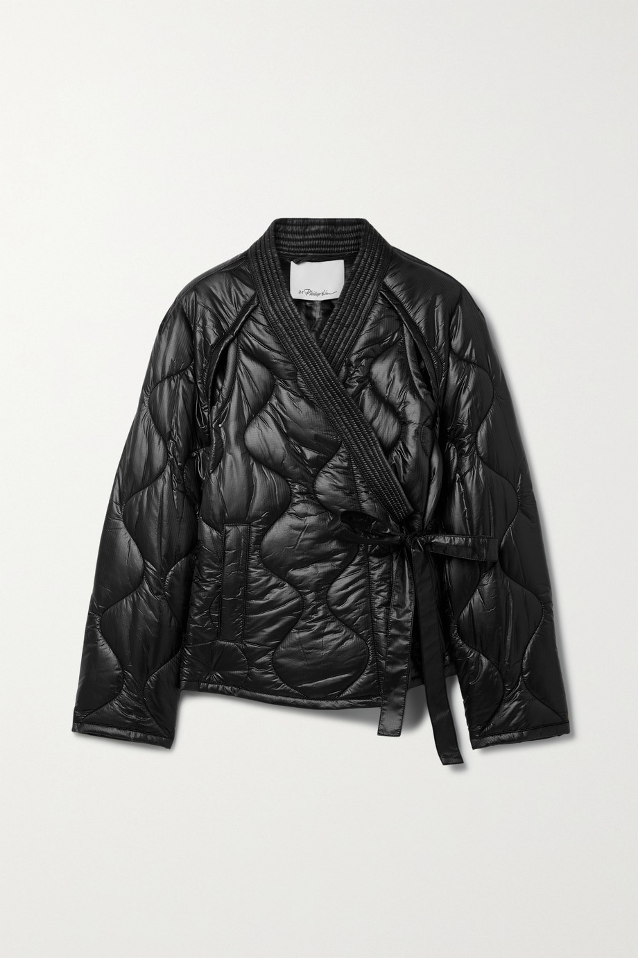 3.1 PHILLIP LIM Belted quilted ripstop jacket