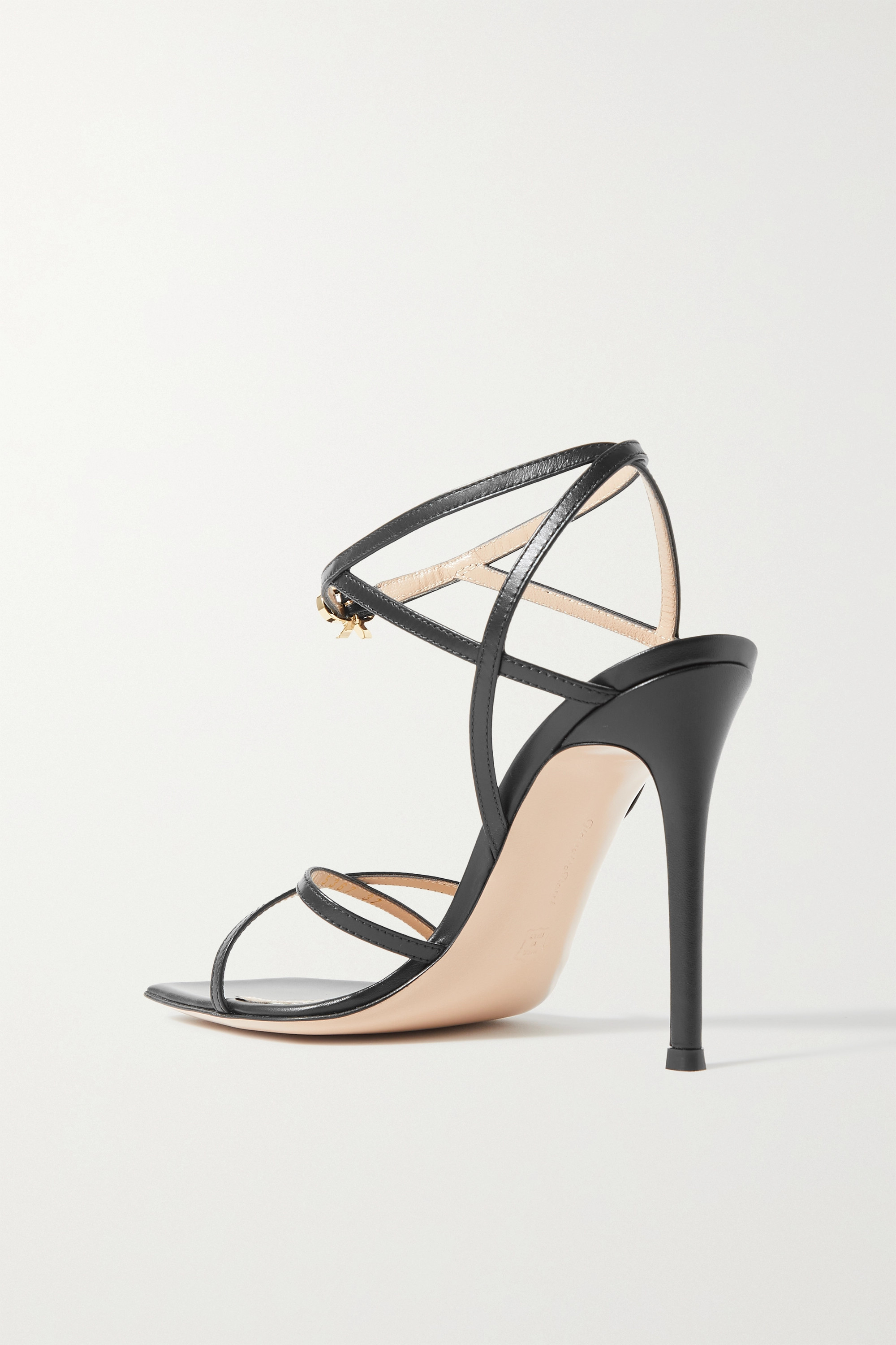 GIANVITO ROSSI Georgina 105 leather sandals