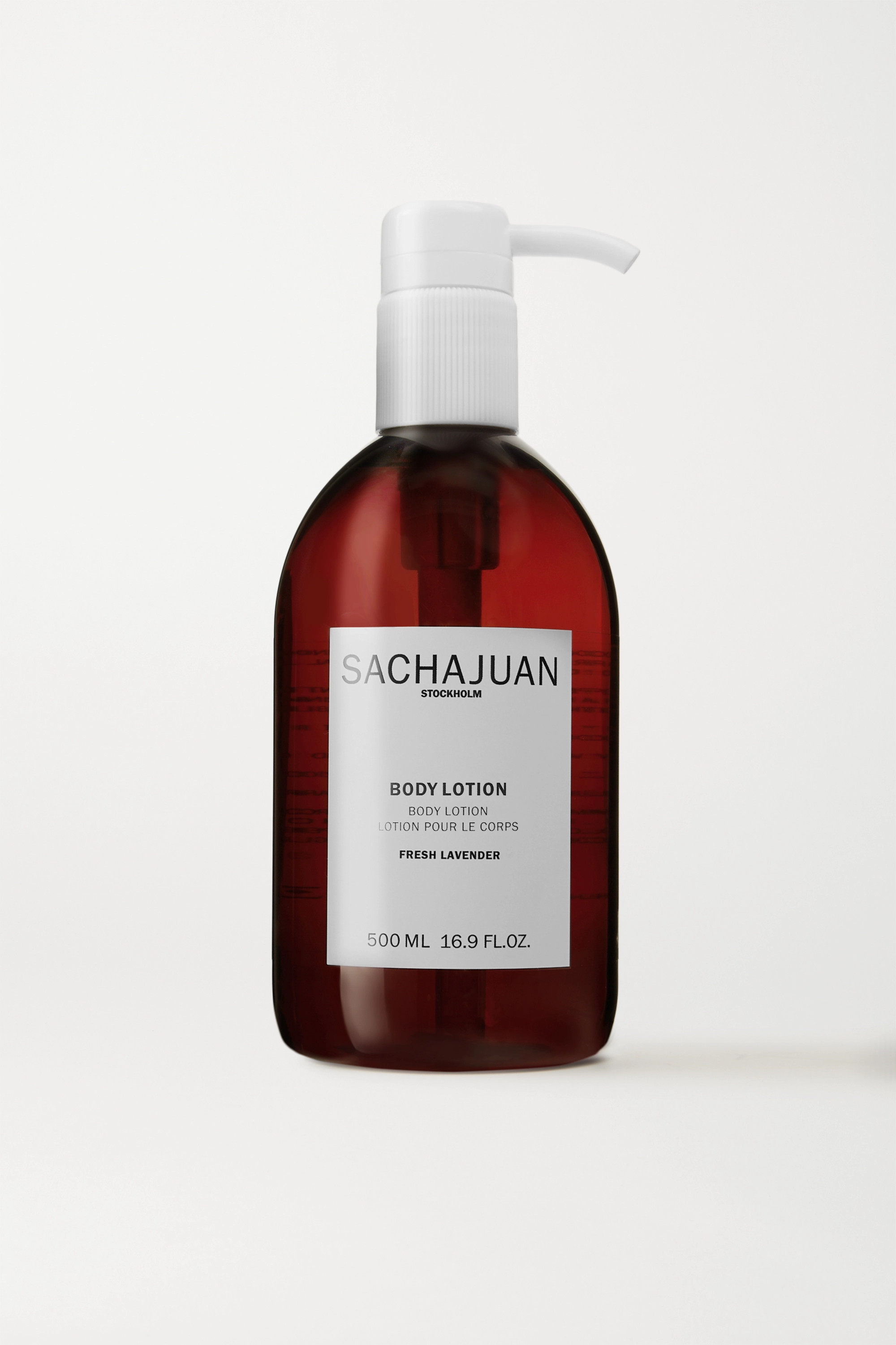 SACHAJUAN Body Lotion - Fresh Lavender, 500ml