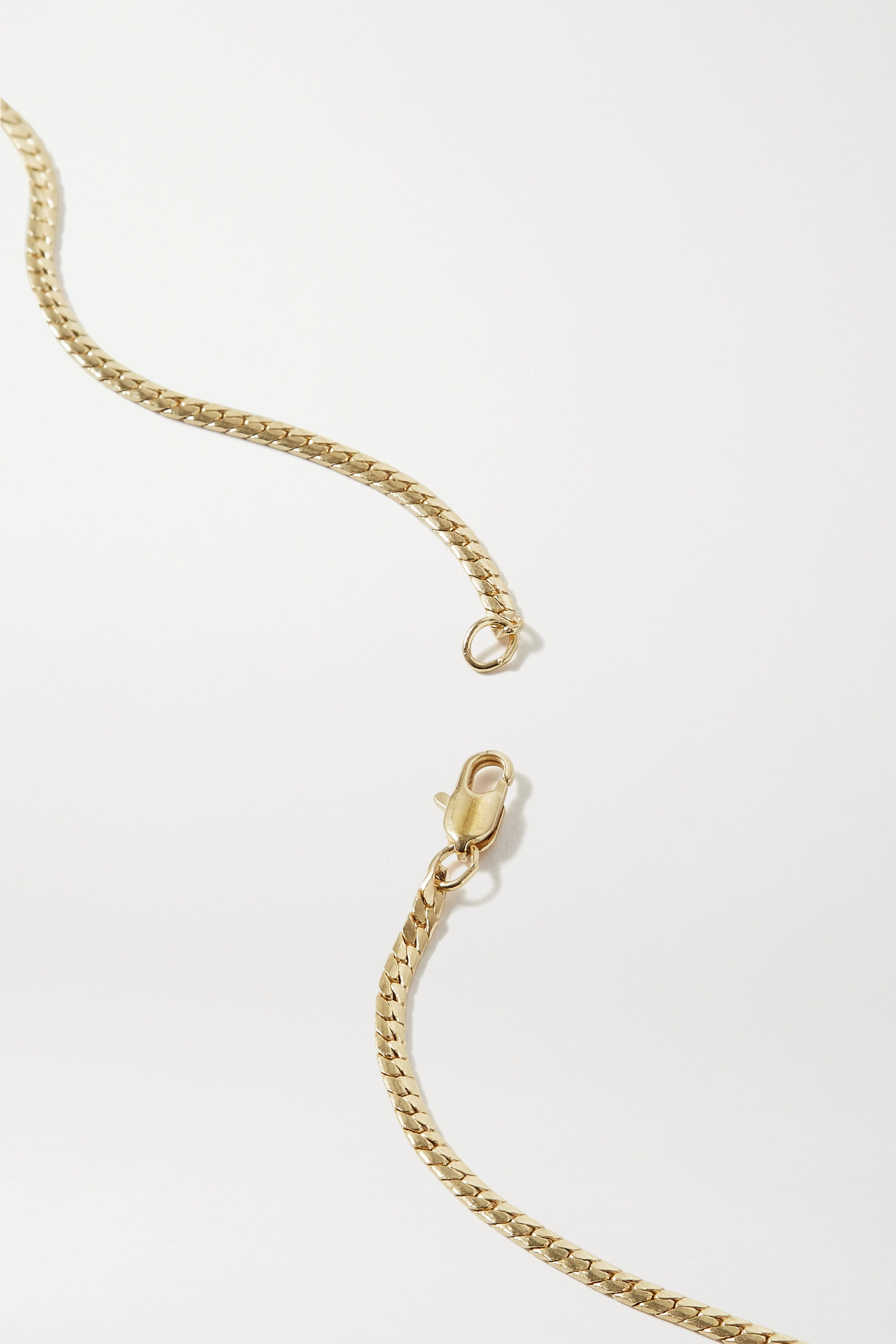 LAURA LOMBARDI Dolce gold-plated necklace