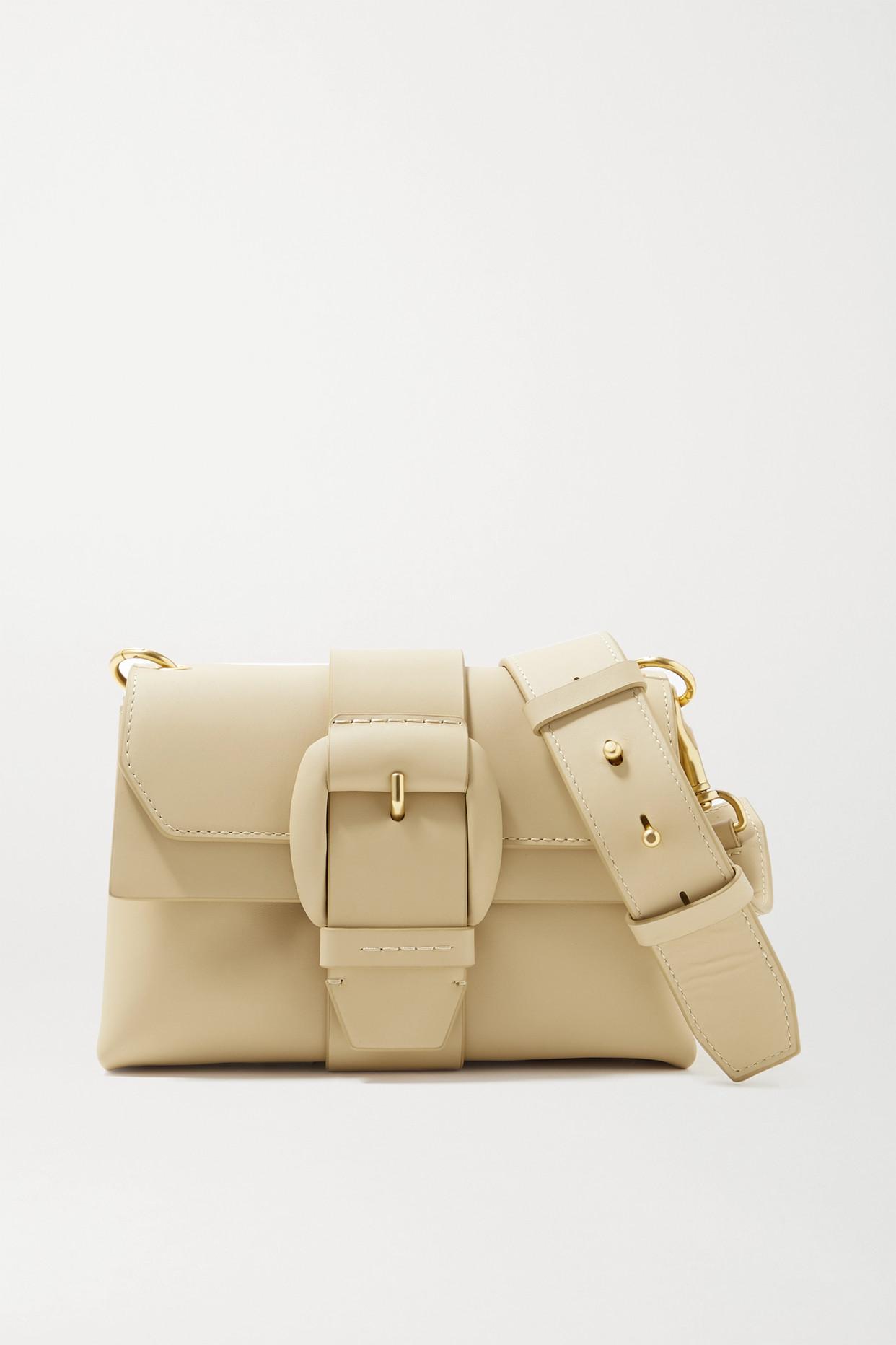 OROTON - Frida Mini Leather Shoulder Bag - Neutrals - one size