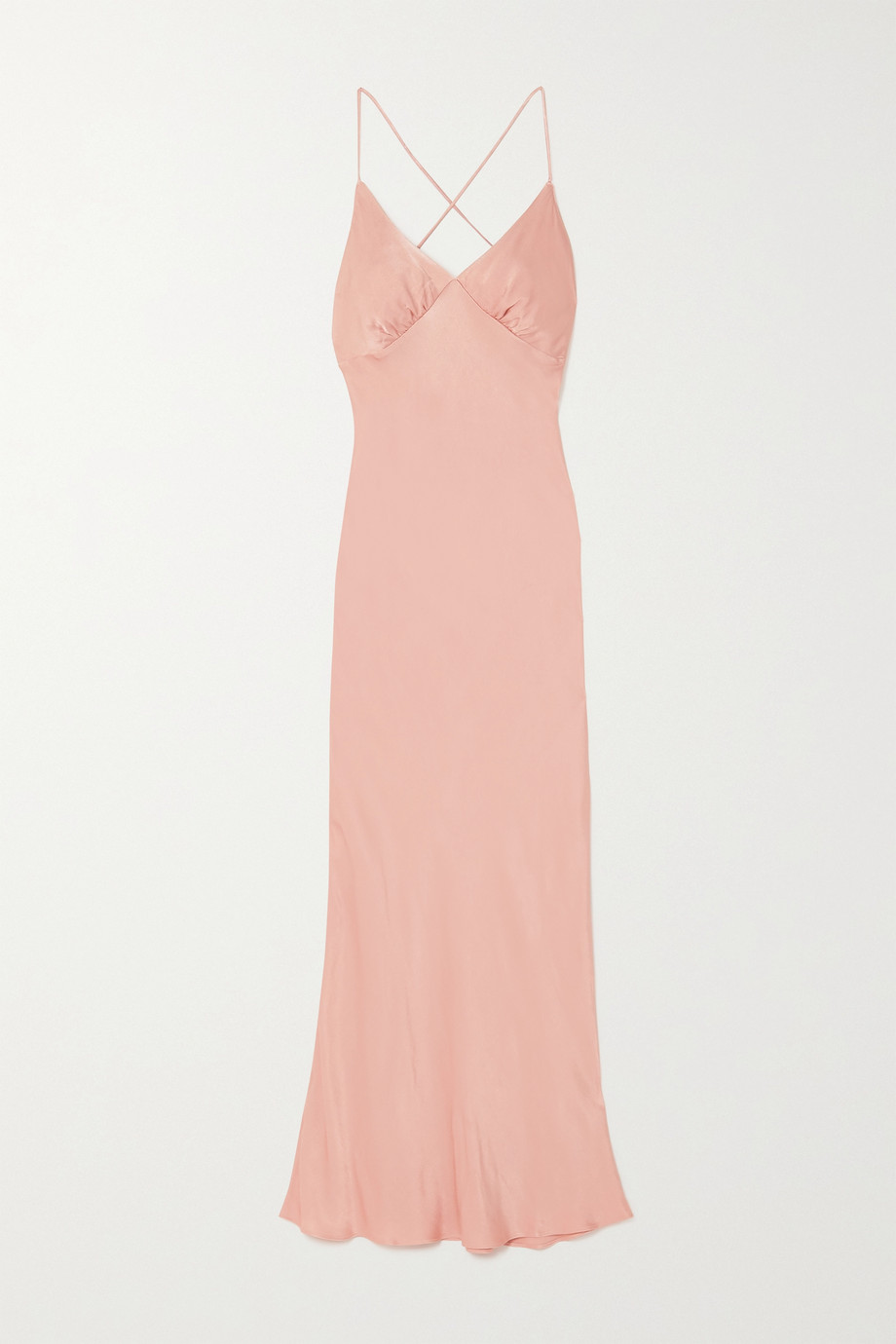 THE LINE BY K Florence satin dress