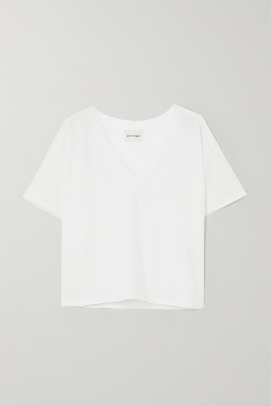 LOULOU STUDIO Faaa Supima cotton-jersey T-shirt
