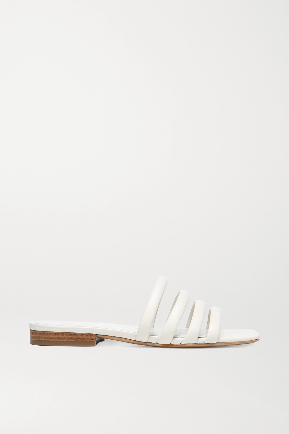 VINCE Zahara leather slides