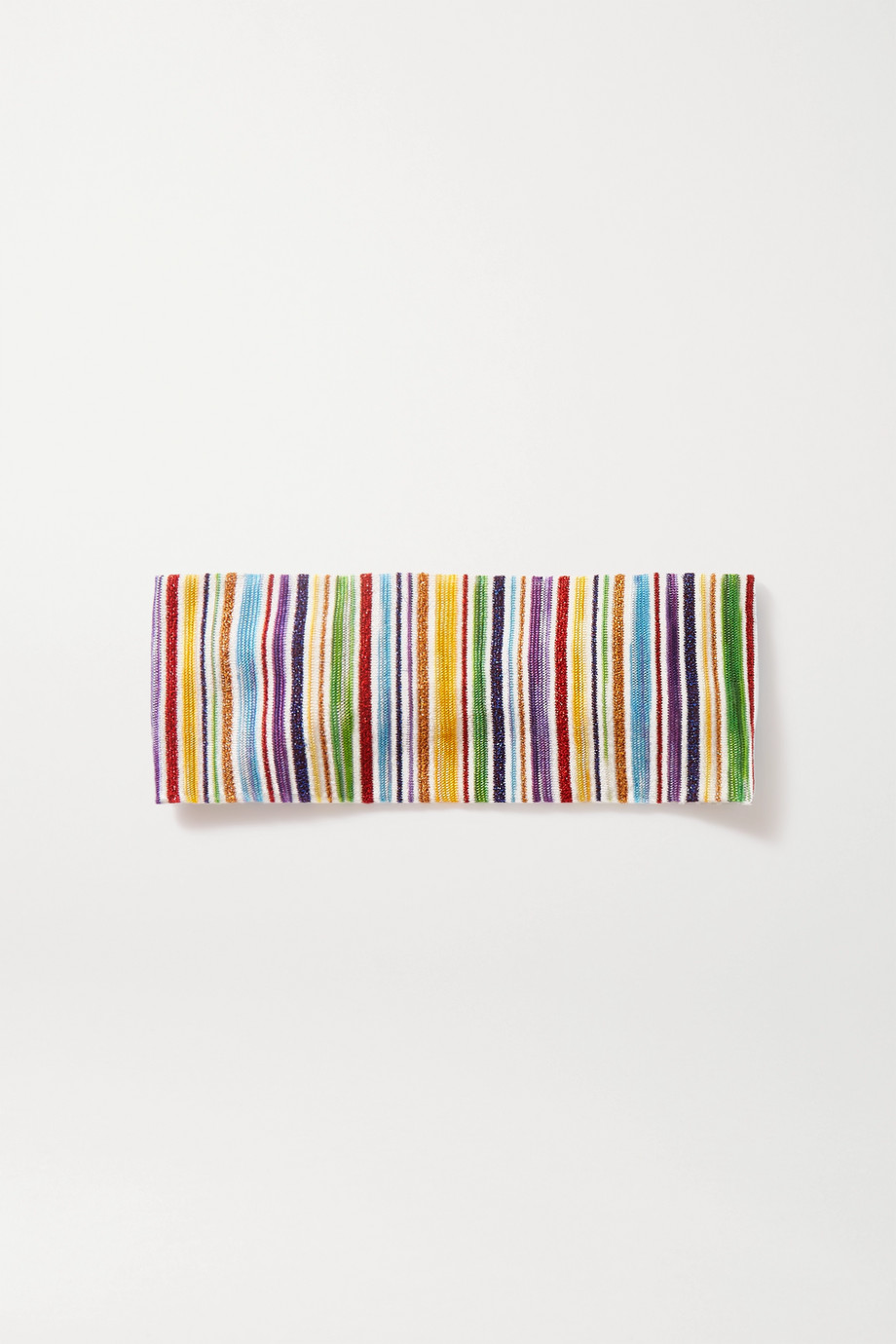 MISSONI Crochet-knit headband