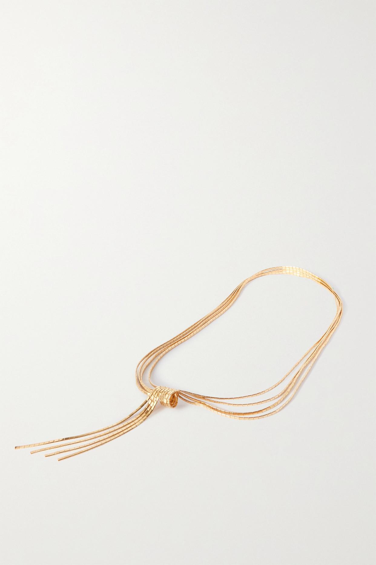 BOTTEGA VENETA - Gold-plated Necklace - One size