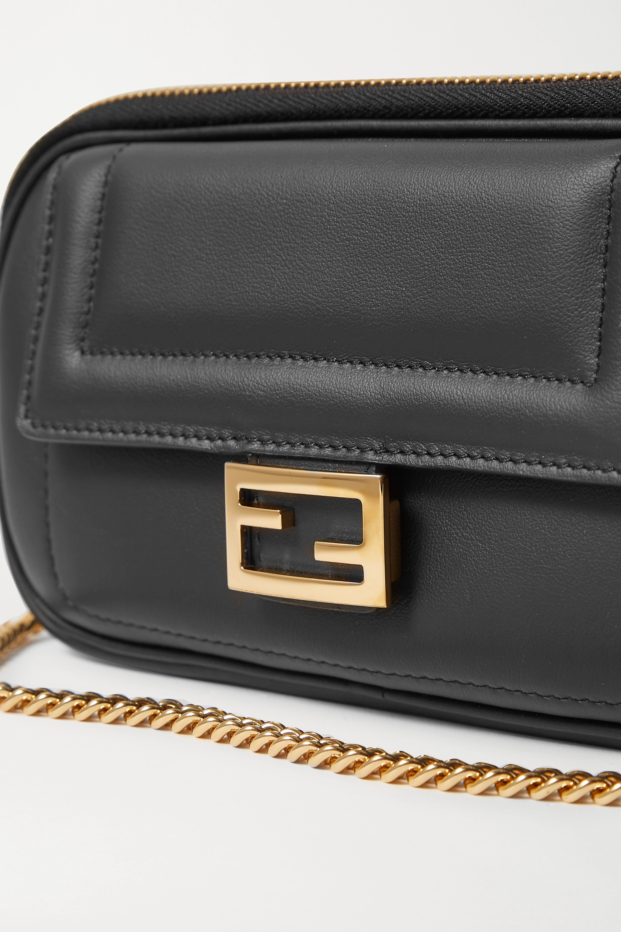 FENDI Easy 2 Baguette leather shoulder bag