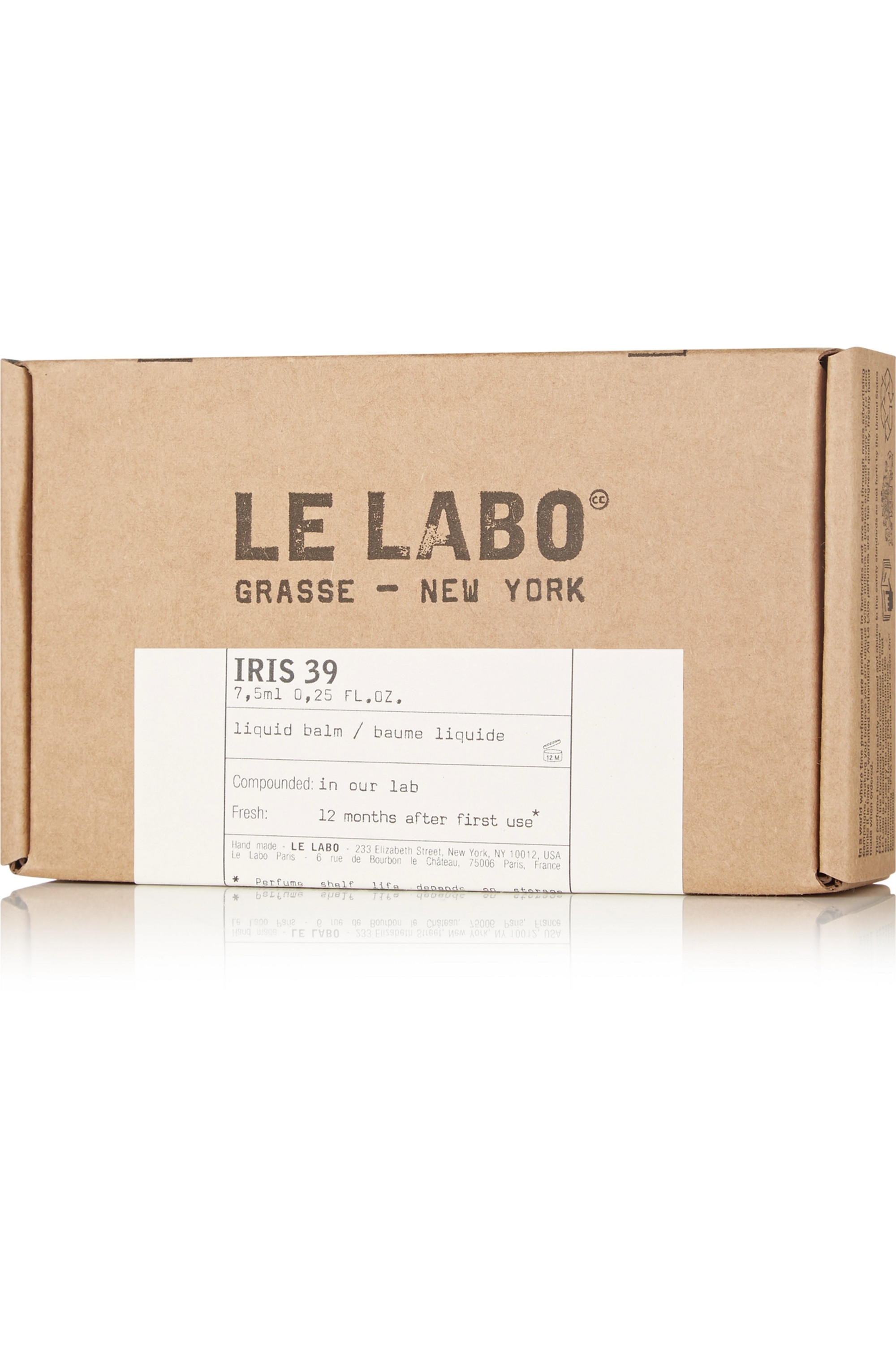 LE LABO Iris 39 Liquid Balm, 7.5ml